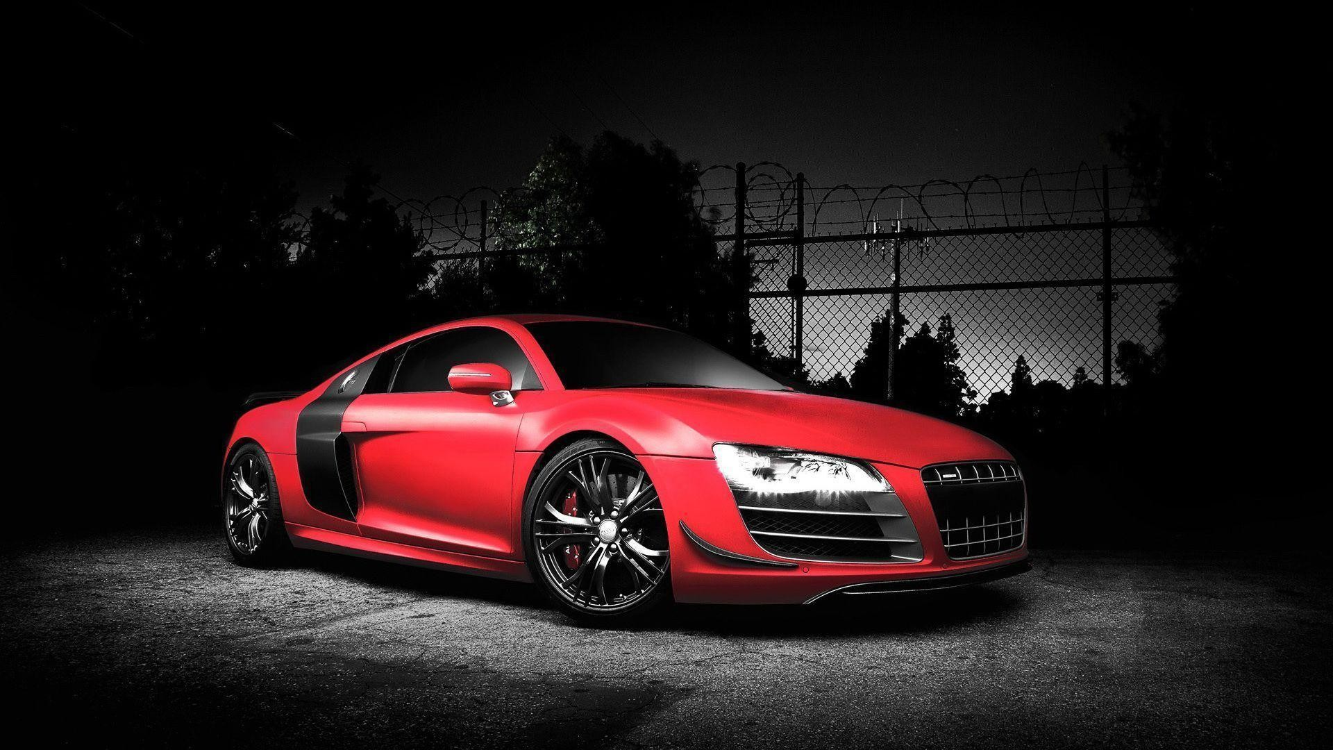 1920x1080 Audi Car Wallpaper Red Color | HD Wallpapers | Desktop Wallpapers