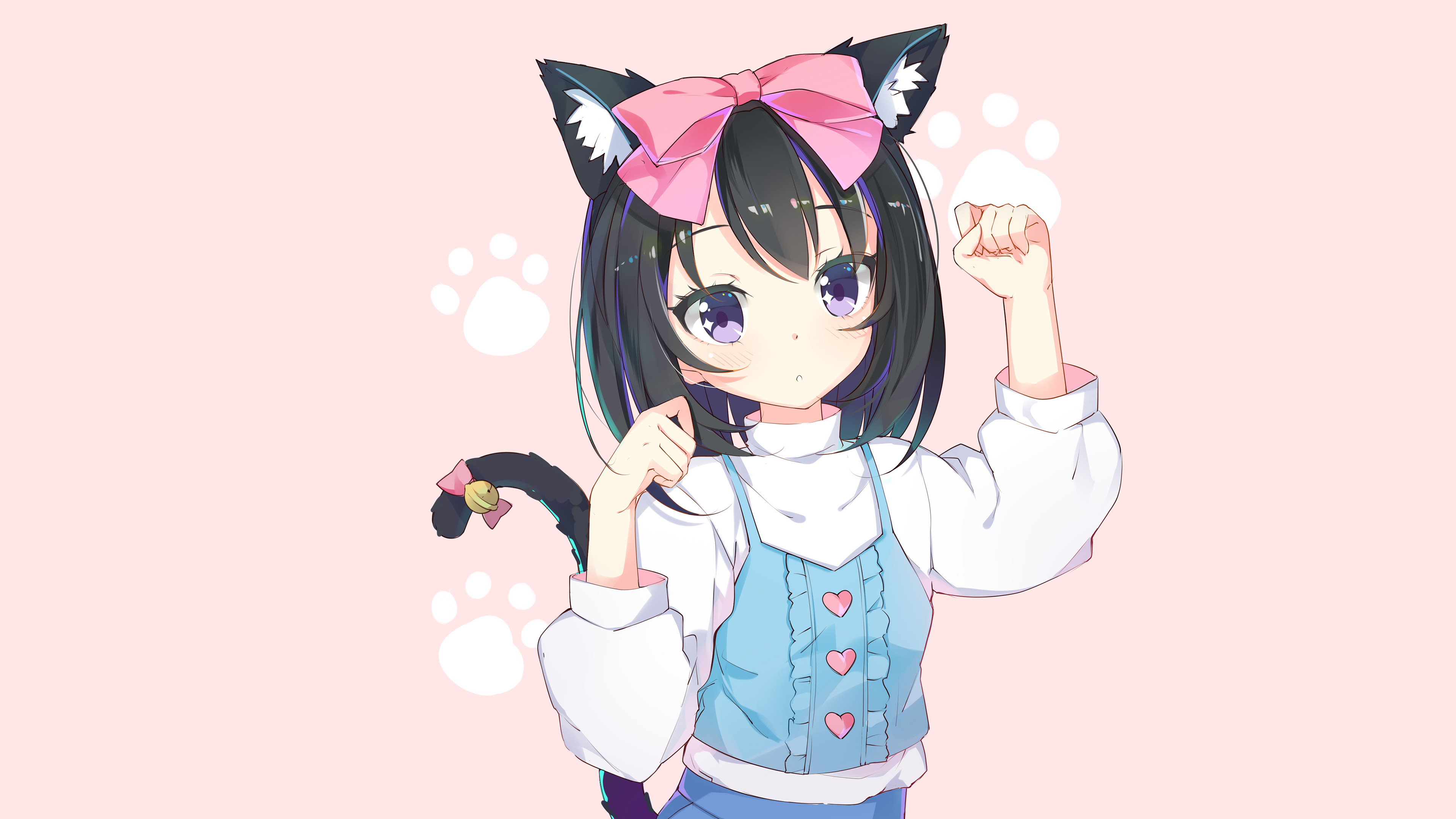 Anime cat girl wallpaper 72 images - Anime kitty girl ...