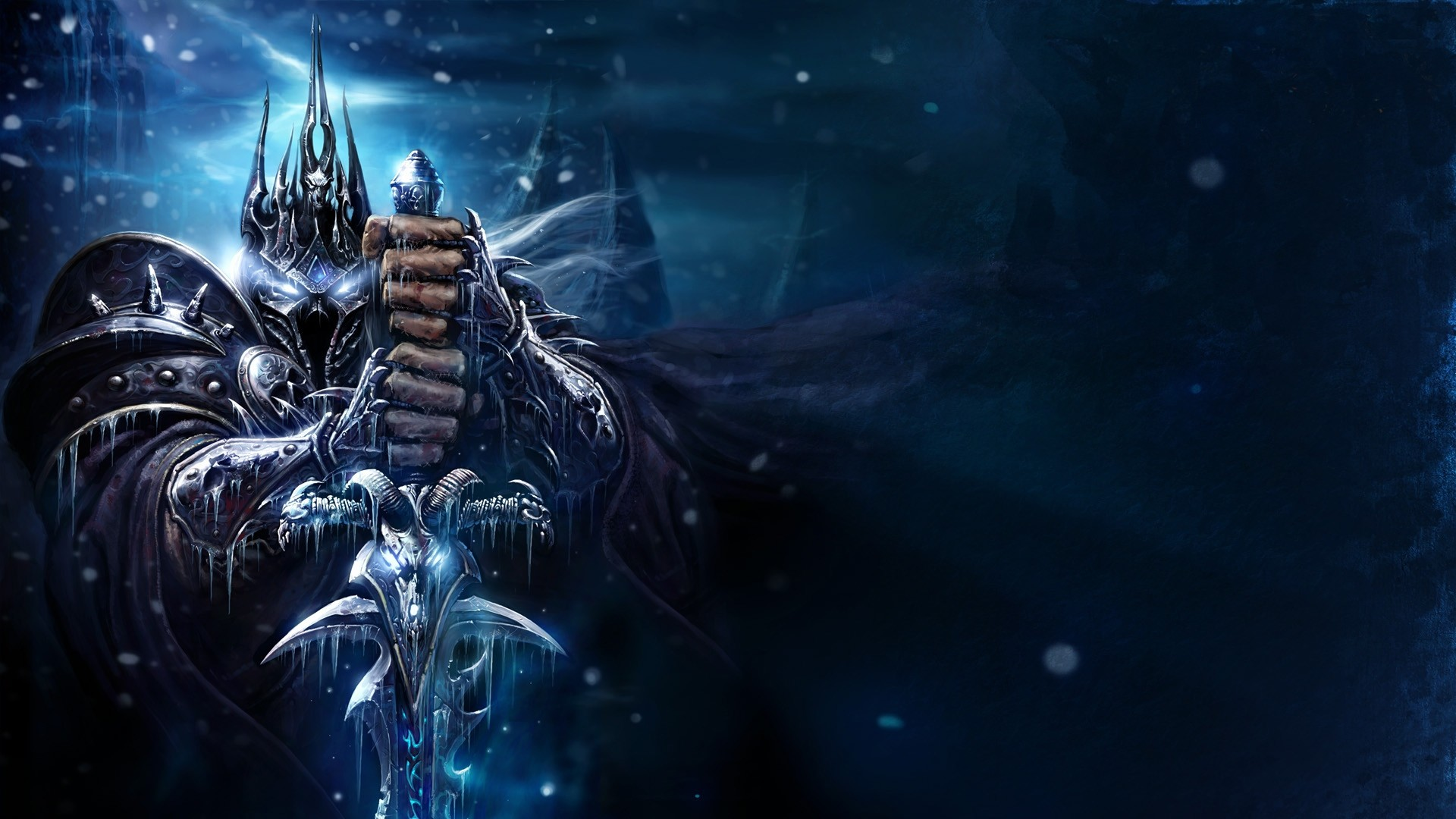 1920x1080 Download Wallpaper  Warcraft, Lich king, Sword, Cold .