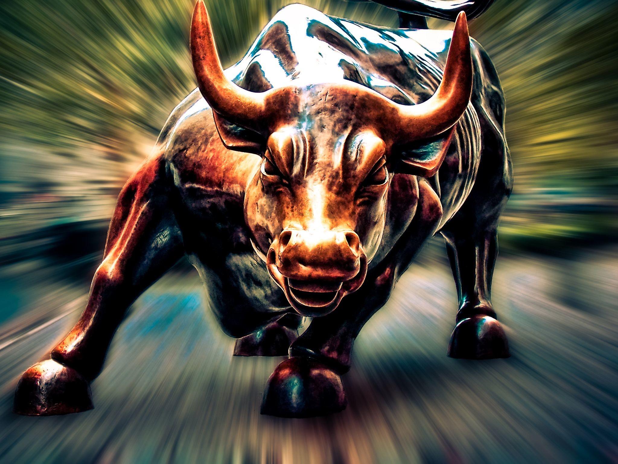 Wall Street Bull Wallpaper (61+ images)