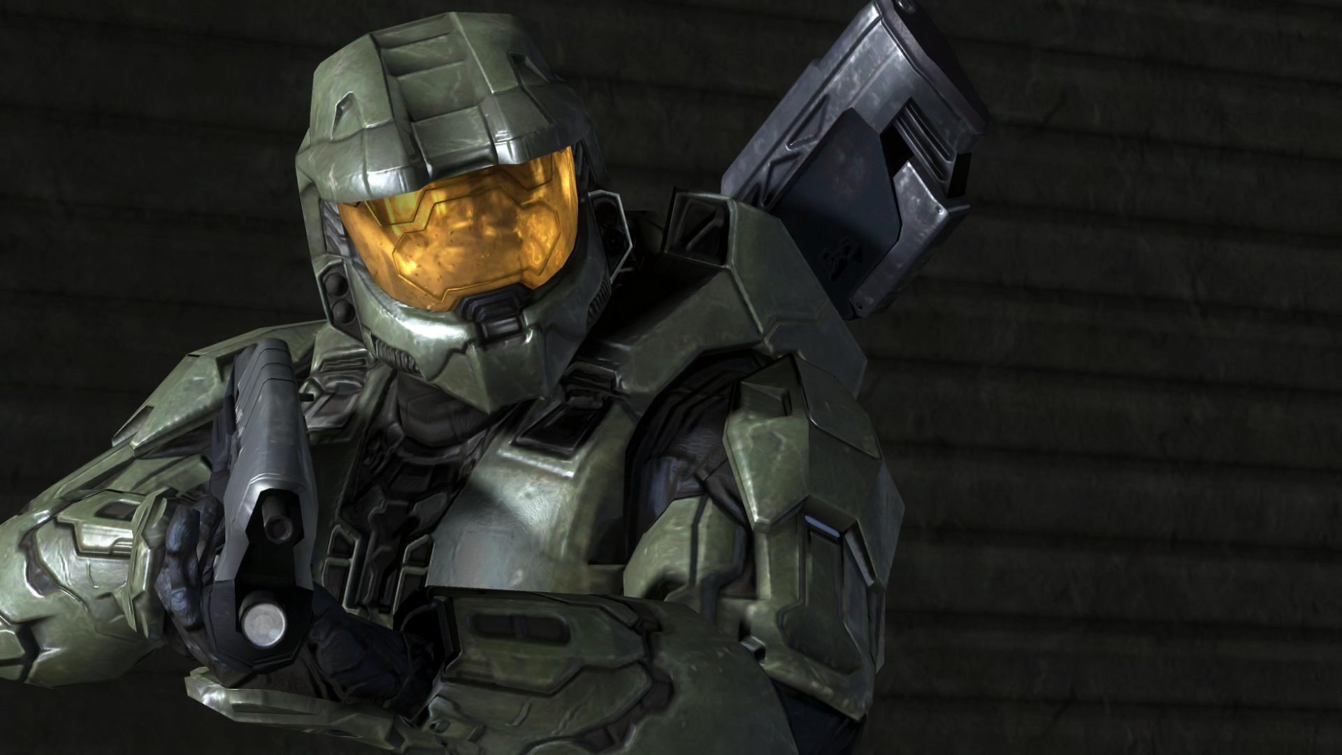 1920x1080 Halo 3 Master Chief Widescreen Background Wallpapers