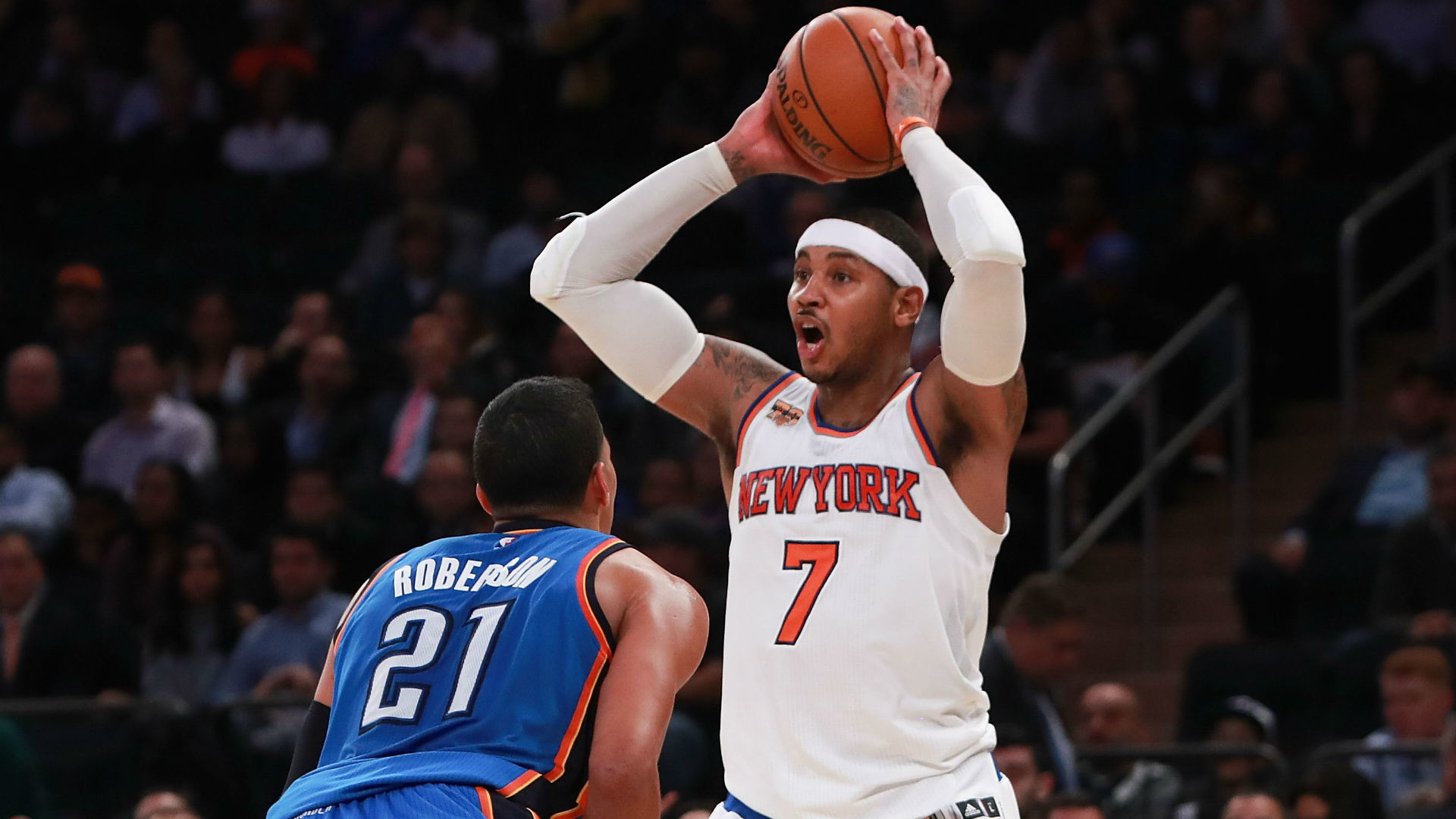 1920x1080 NBA trade rumors: Five reactions to Thunder snagging Carmelo Anthony in  deal with Knicks | NBA | Sporting News