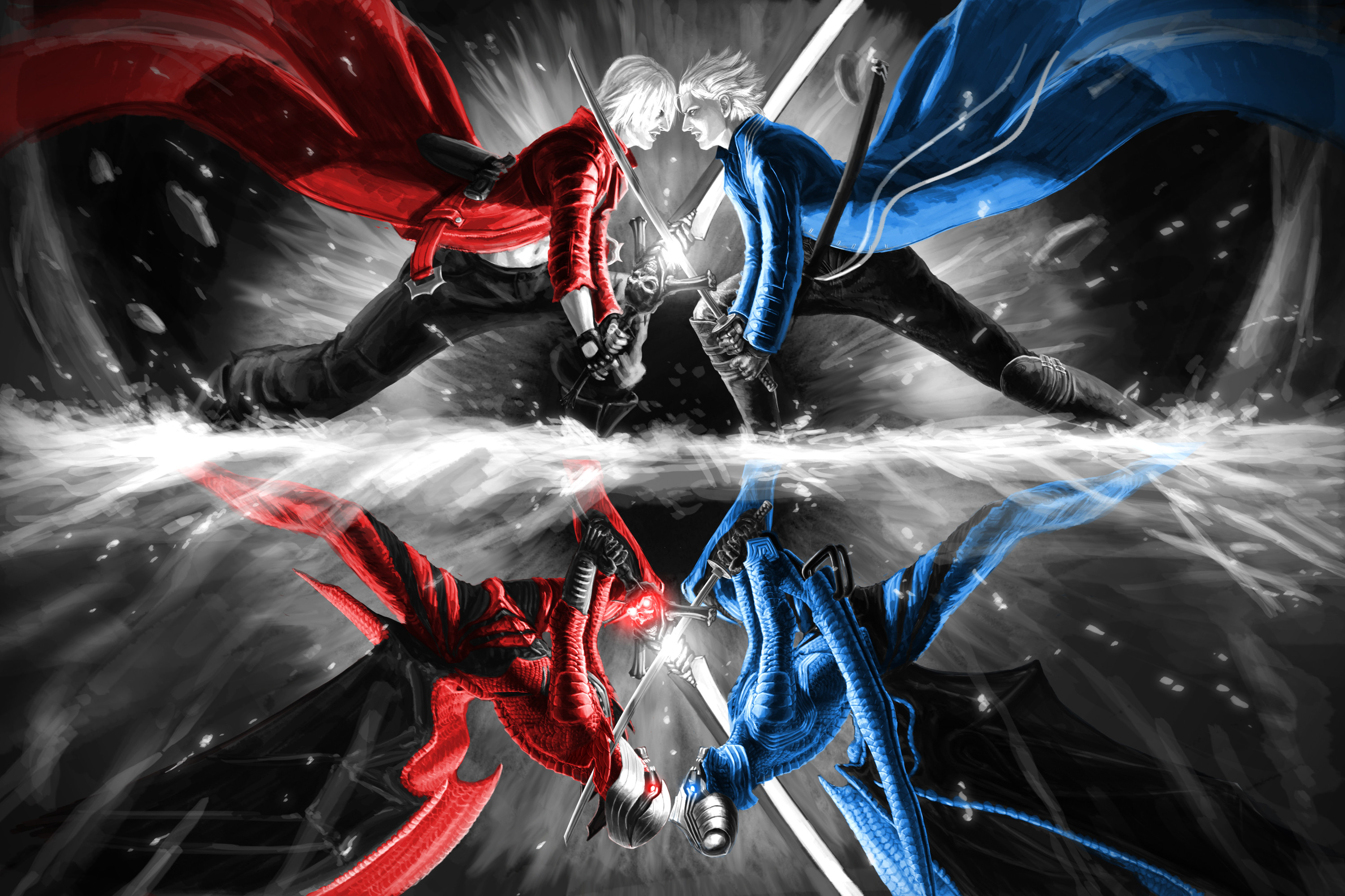 Devil may cry 3 wallpaper 62 images 3000x2000 video game devil may cry wallpaper voltagebd Choice Image
