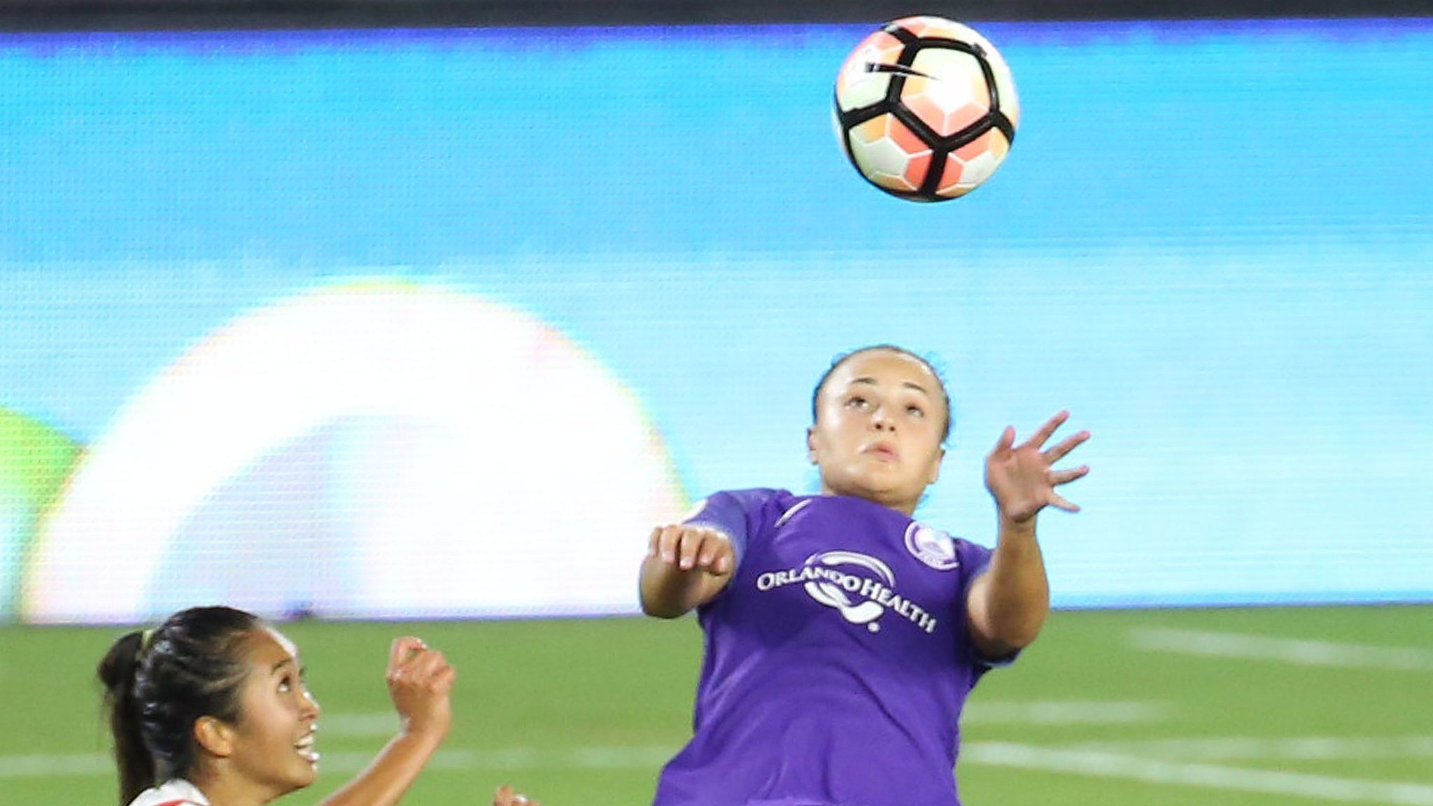 2048x1152 Orlando Pride defenders Kristen Edmonds, Camila hope to play Portland  Saturday - Orlando Sentinel