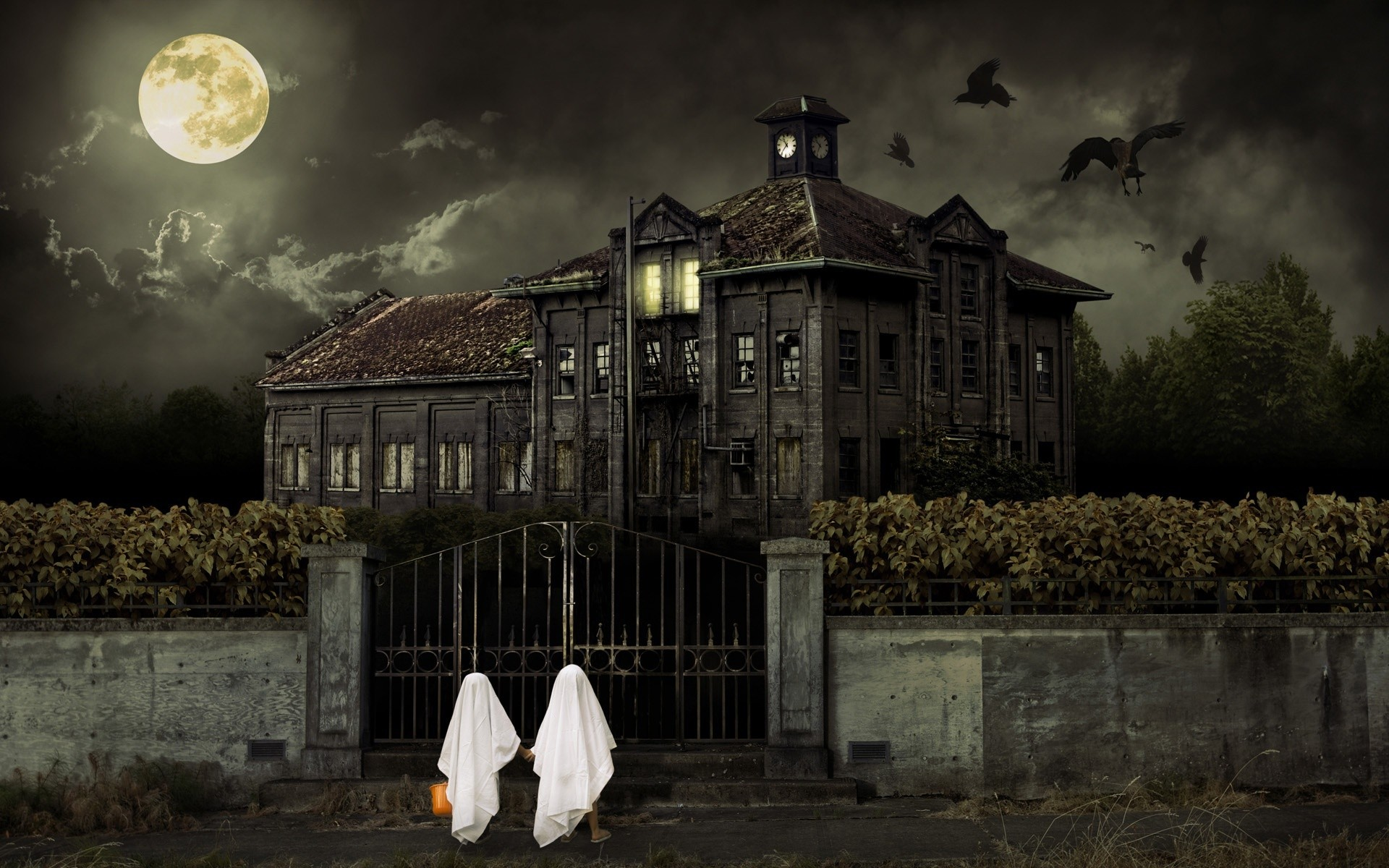 1920x1200 Free Cool Haunted House Images on your Computer