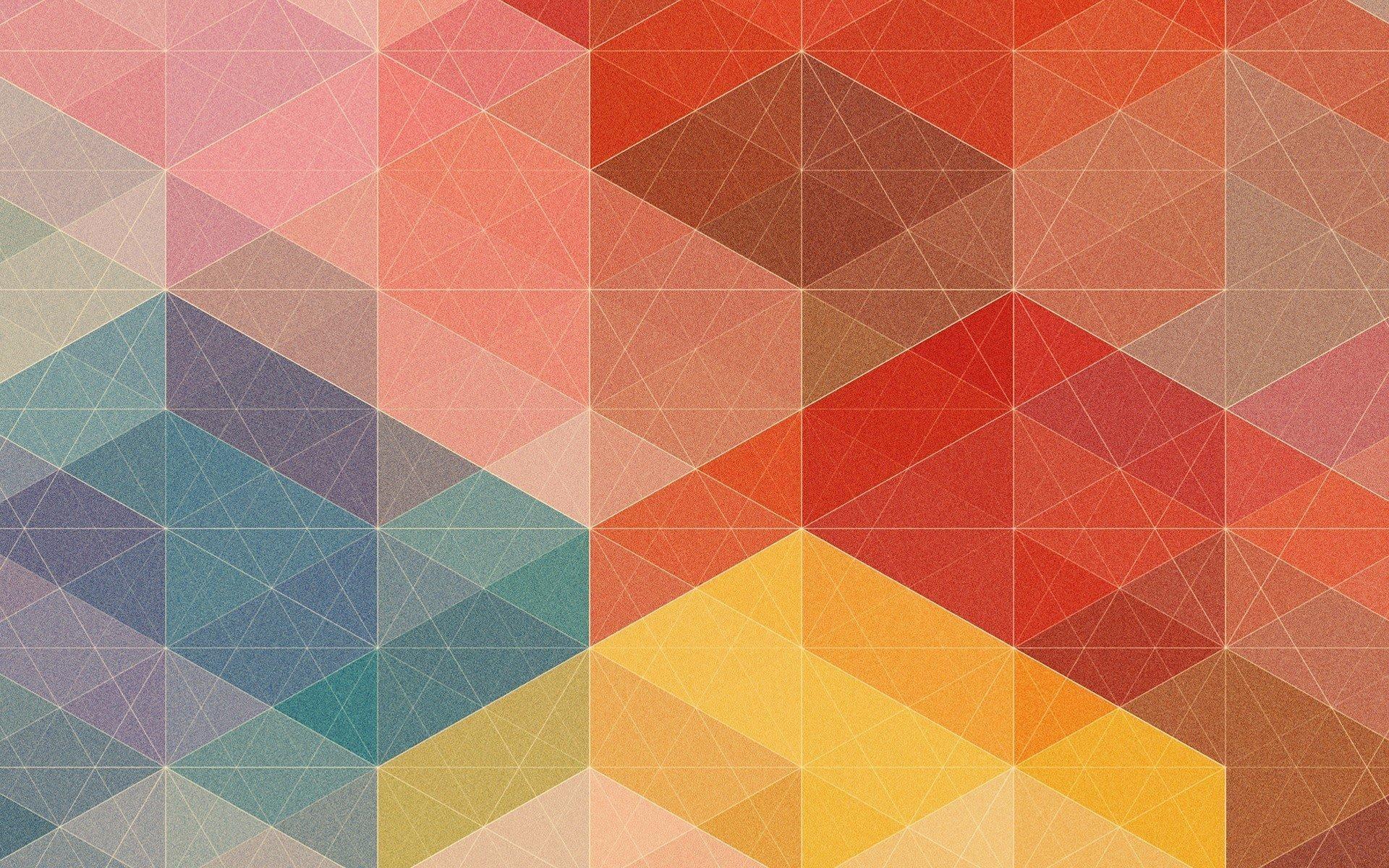 Orange Geometric Wallpaper 43 Images