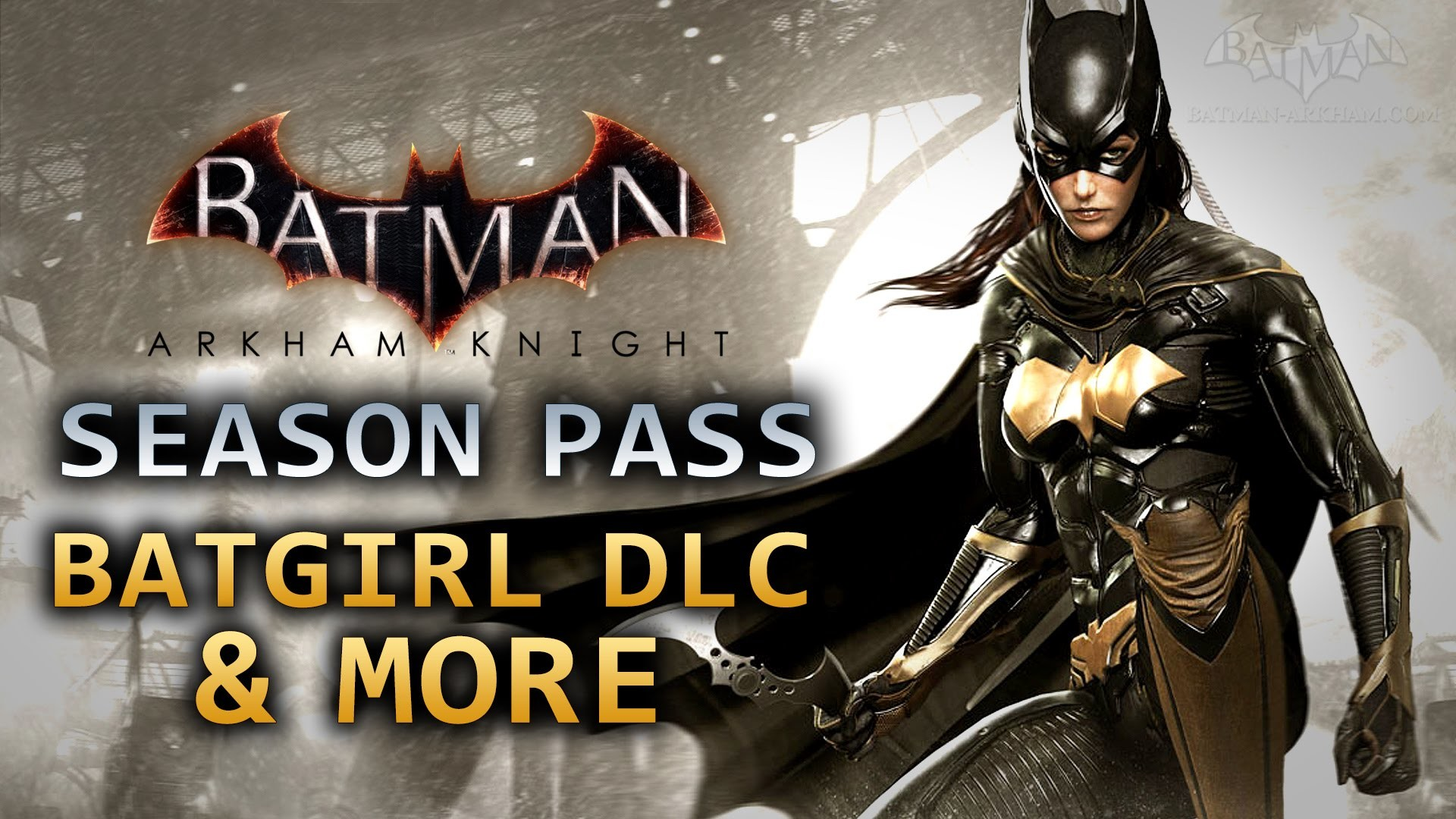 1920x1080 Batman: Arkham Knight - Batgirl DLC & More (Season Pass Details) - YouTube