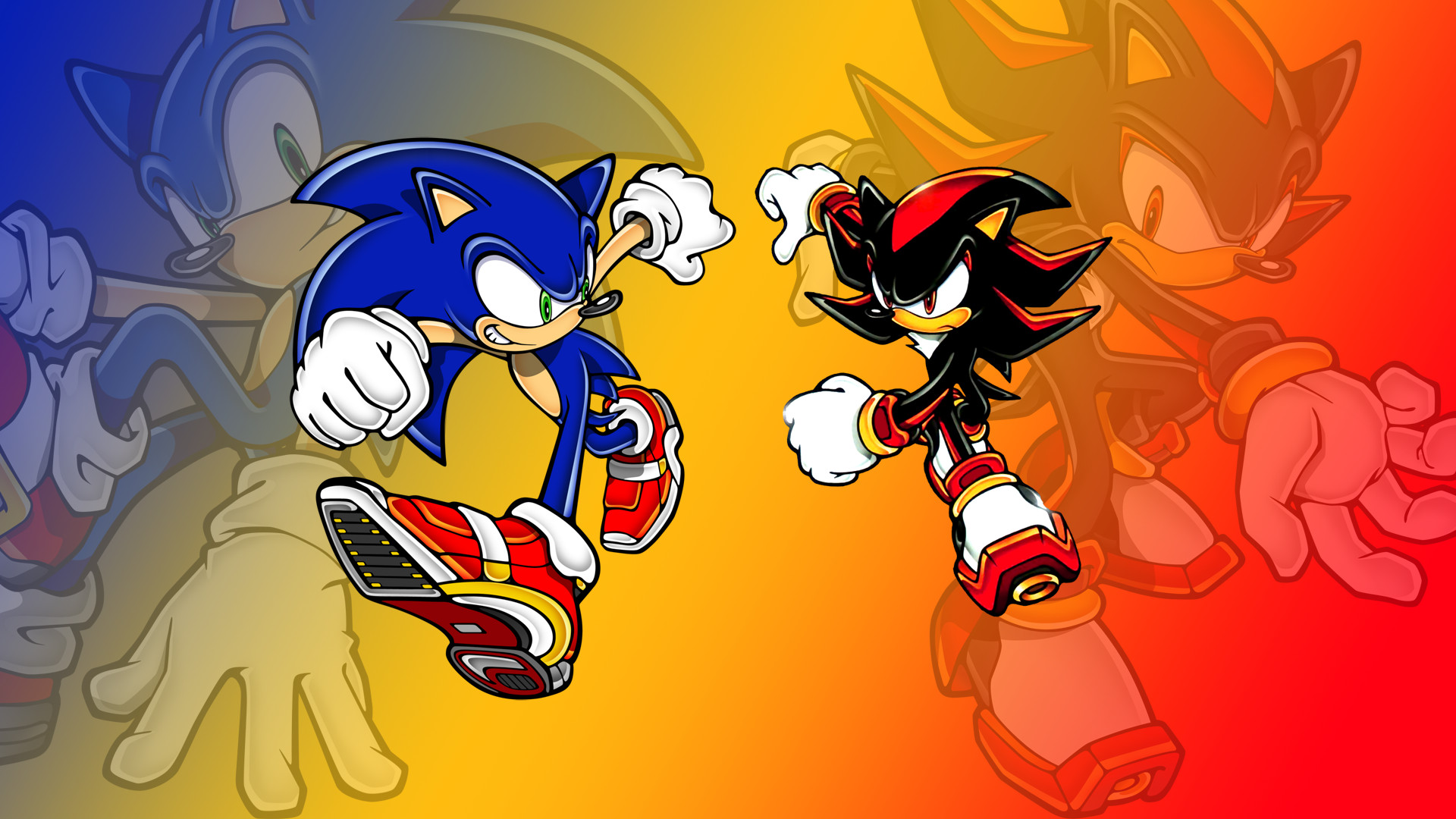 1920x1080 Sonic And Shadow Wallpapers Group (89+)