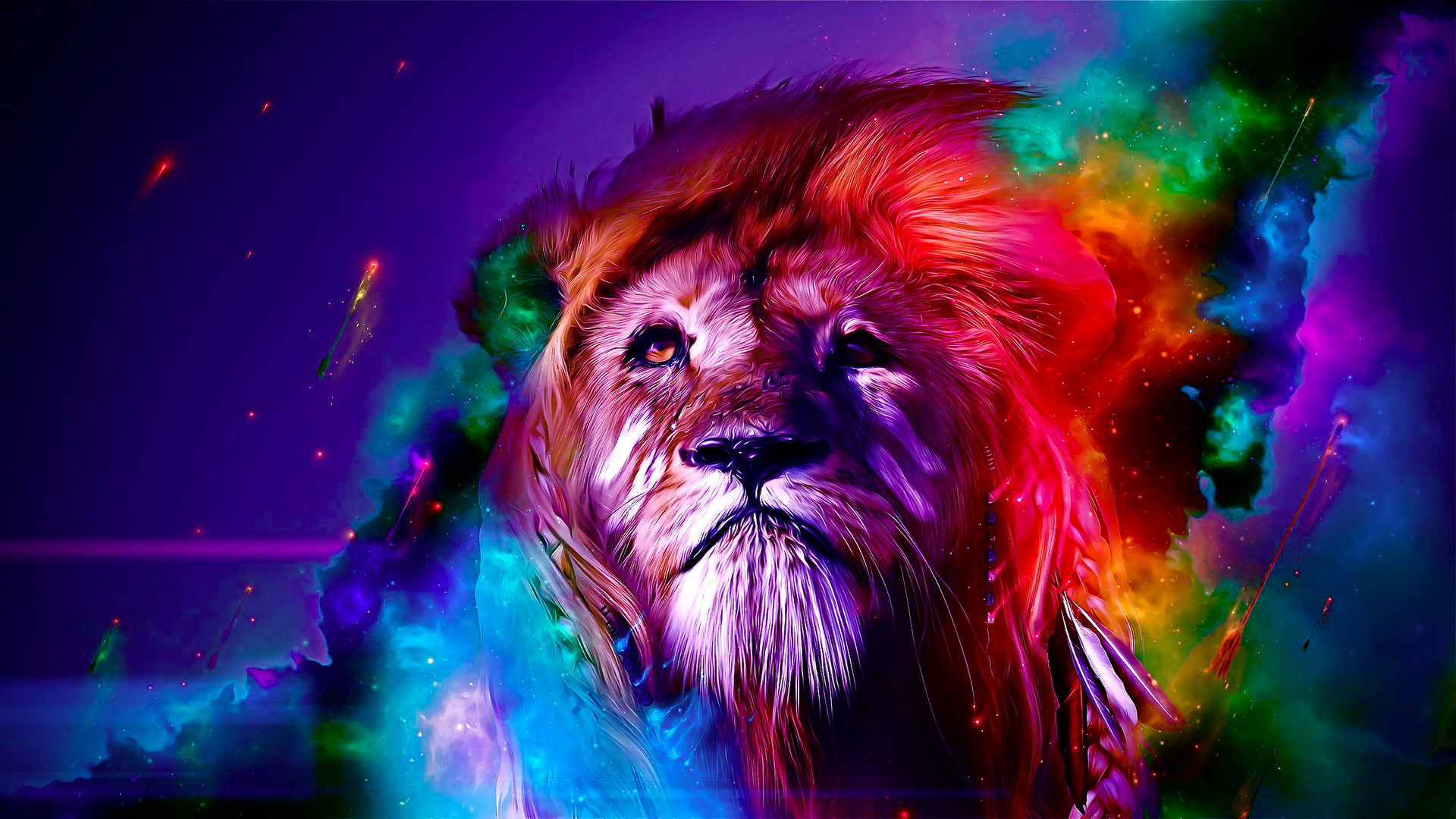 Rainbow Lion Wallpaper 57 Images