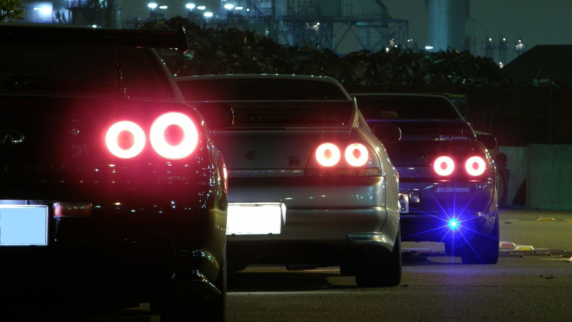 1920x1080 cars backview vehicles nissan skyline r32 gtr jdm nissan skyline r33 gtr   tuning wallpaper