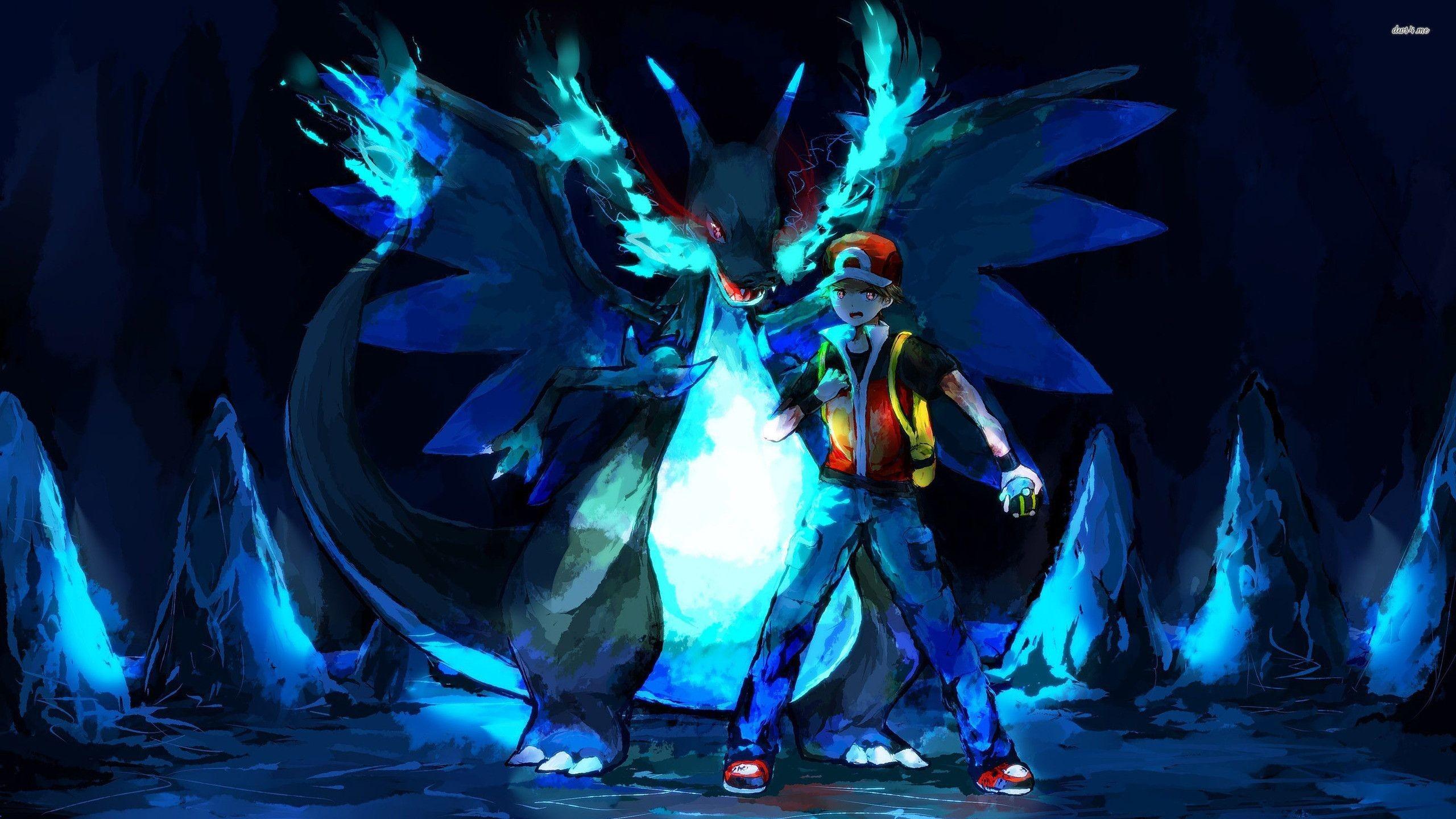 Pokemon Mega Charizard X Wallpaper 80 Images