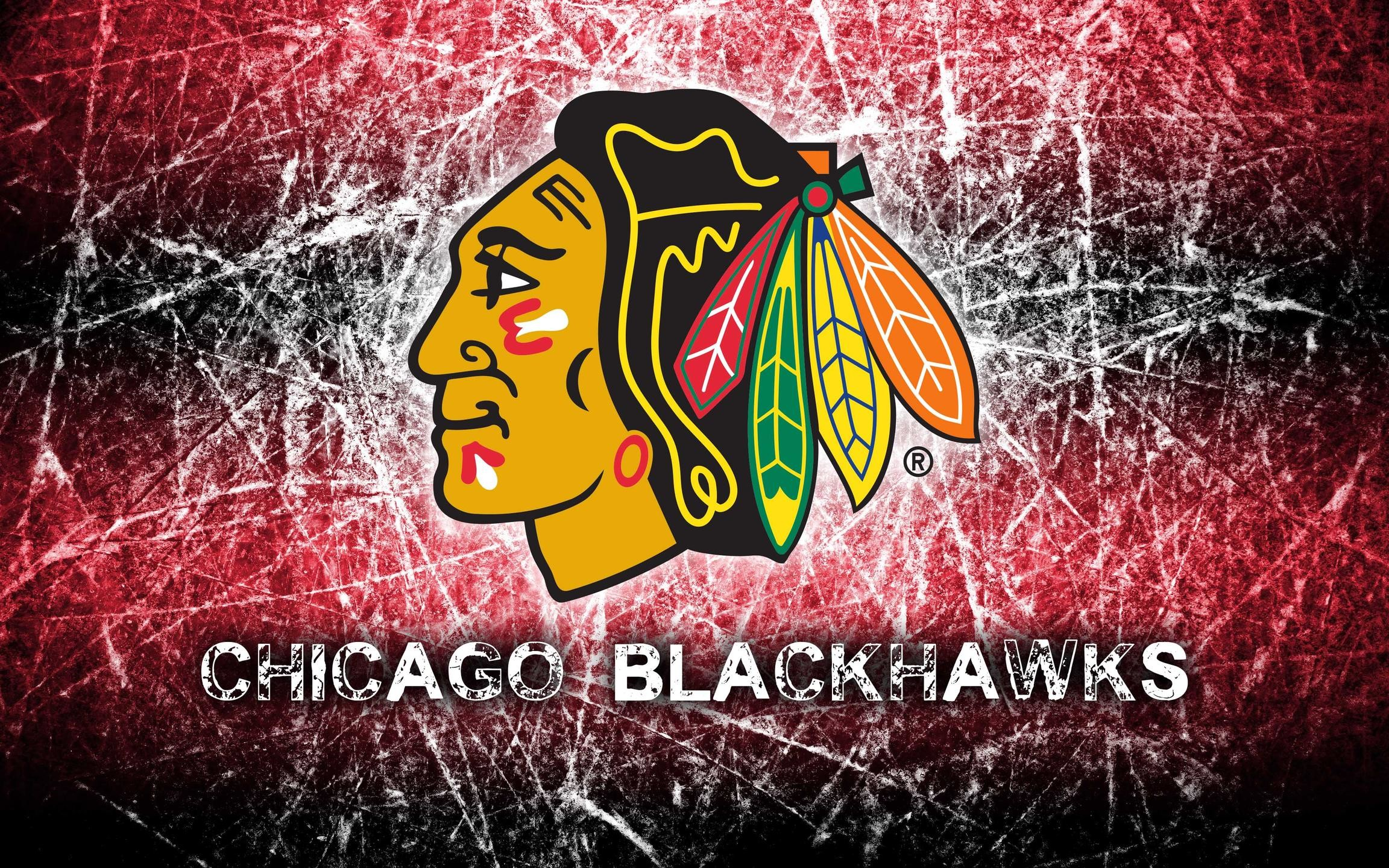 2304x1440 Chicago Blackhawks 2014 Logo Wallpaper Wide or HD | Sports Wallpapers