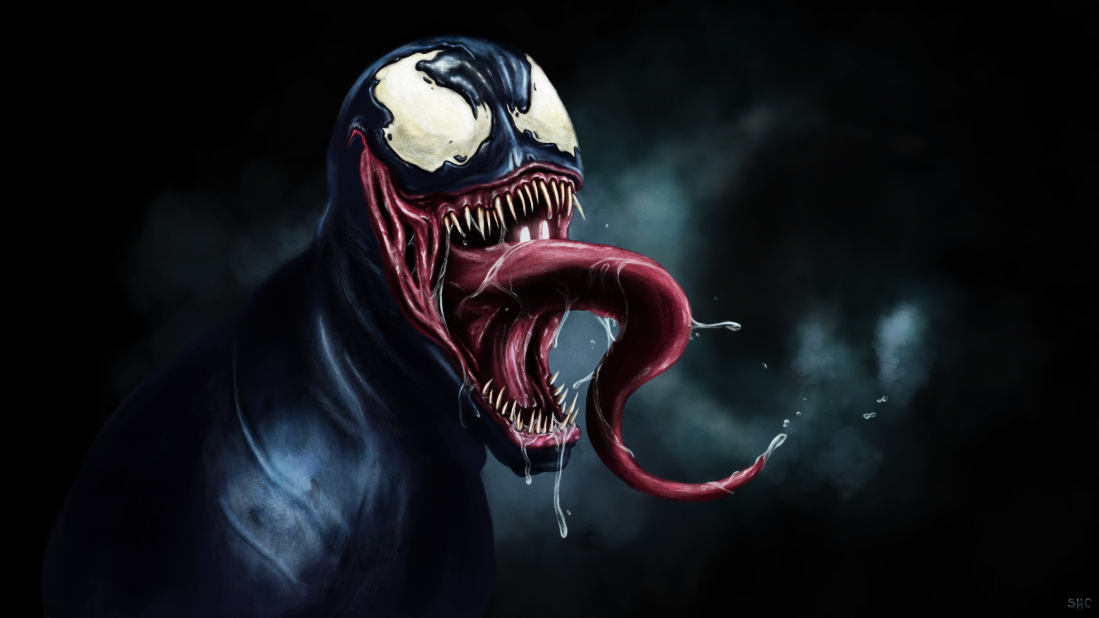 3840x2160 Preview wallpaper venom, eddie brock, marvel