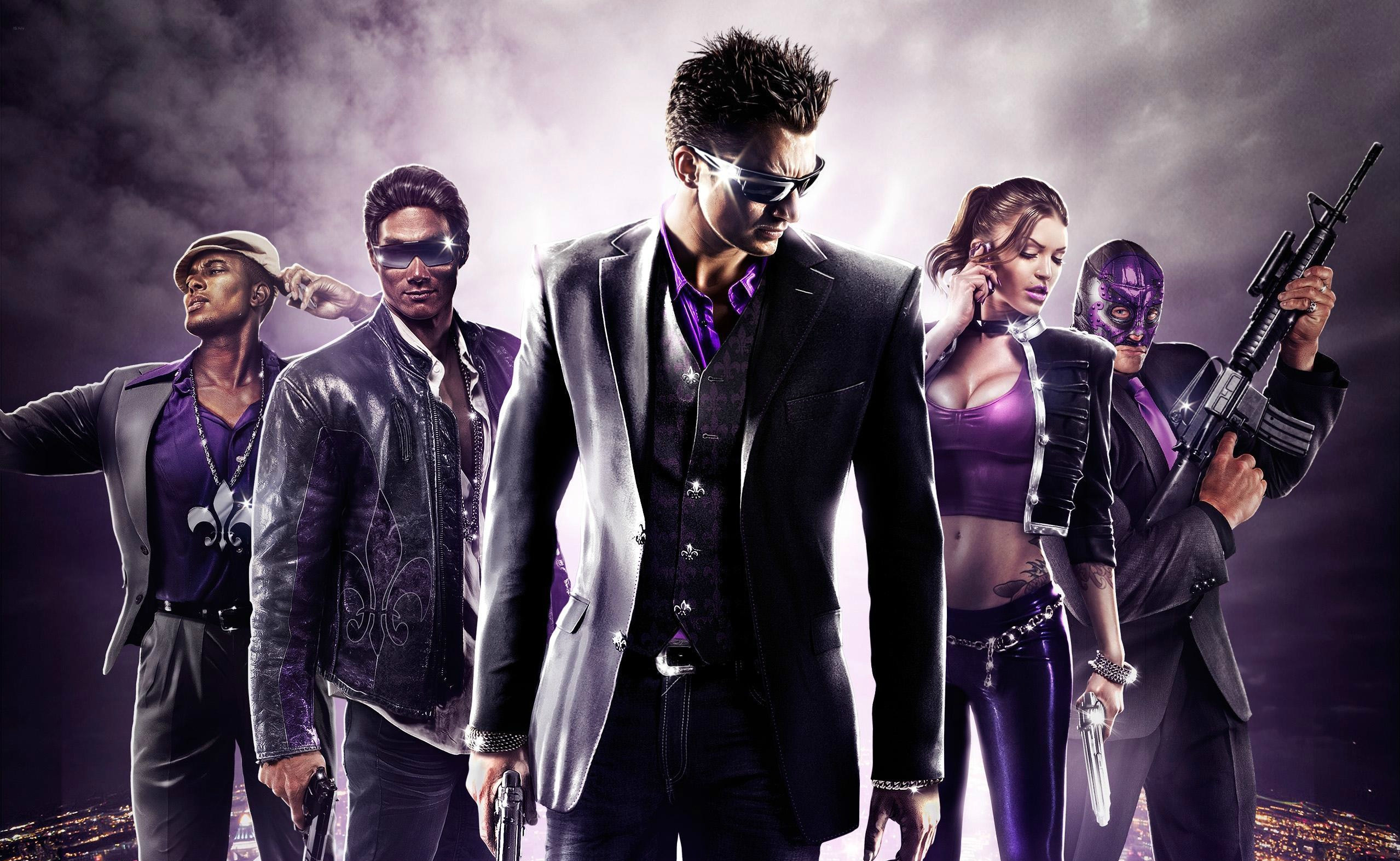 2558x1573 Video Game - Saints Row: The Third Saint Row Wallpaper
