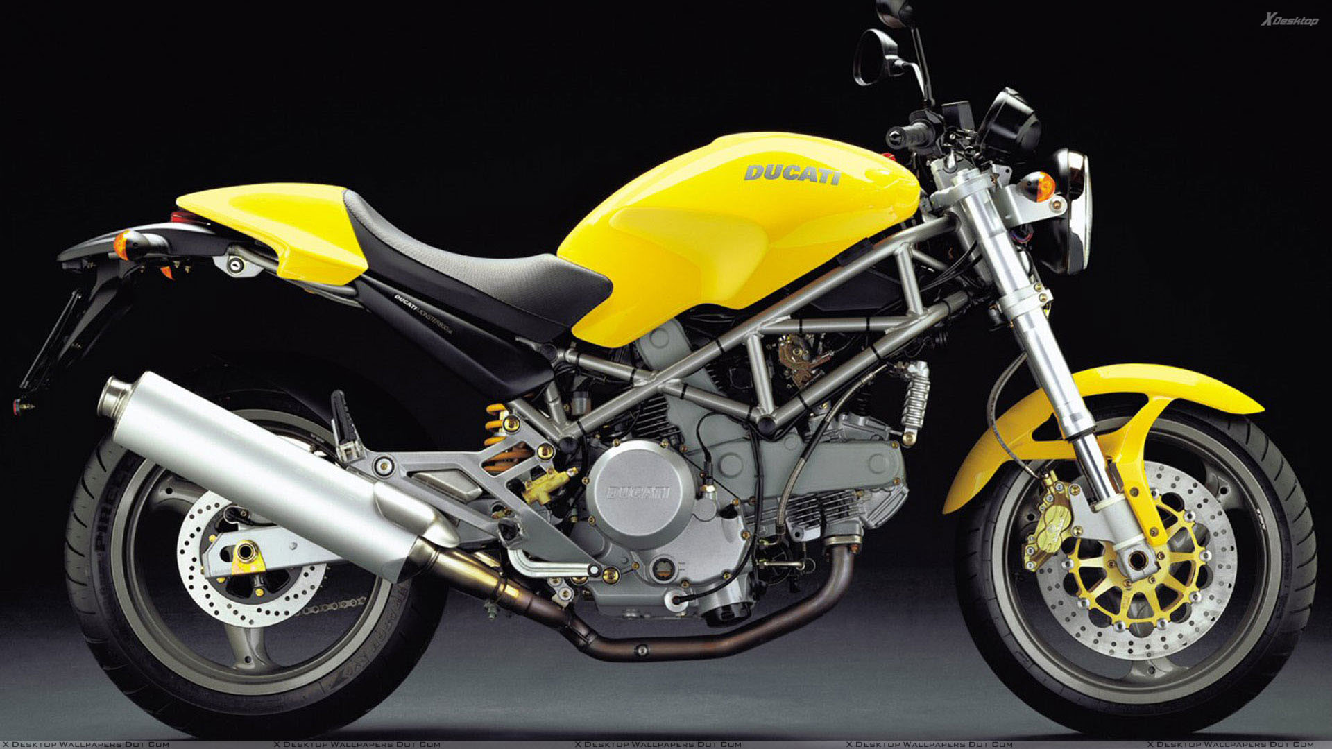1920x1080 Ducati Motorcycle Yellow Unique Ducati Monster 800 2004 In Yellow Side Pose  Wallpaper ...