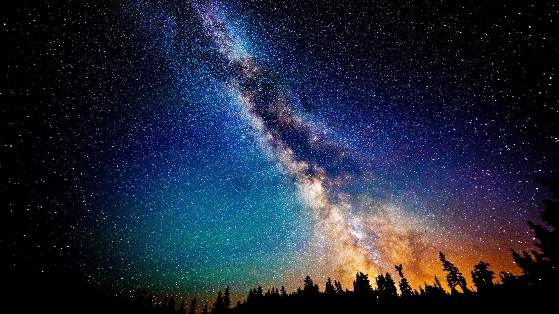Milky Way Wallpaper 1920x1080 71 Images