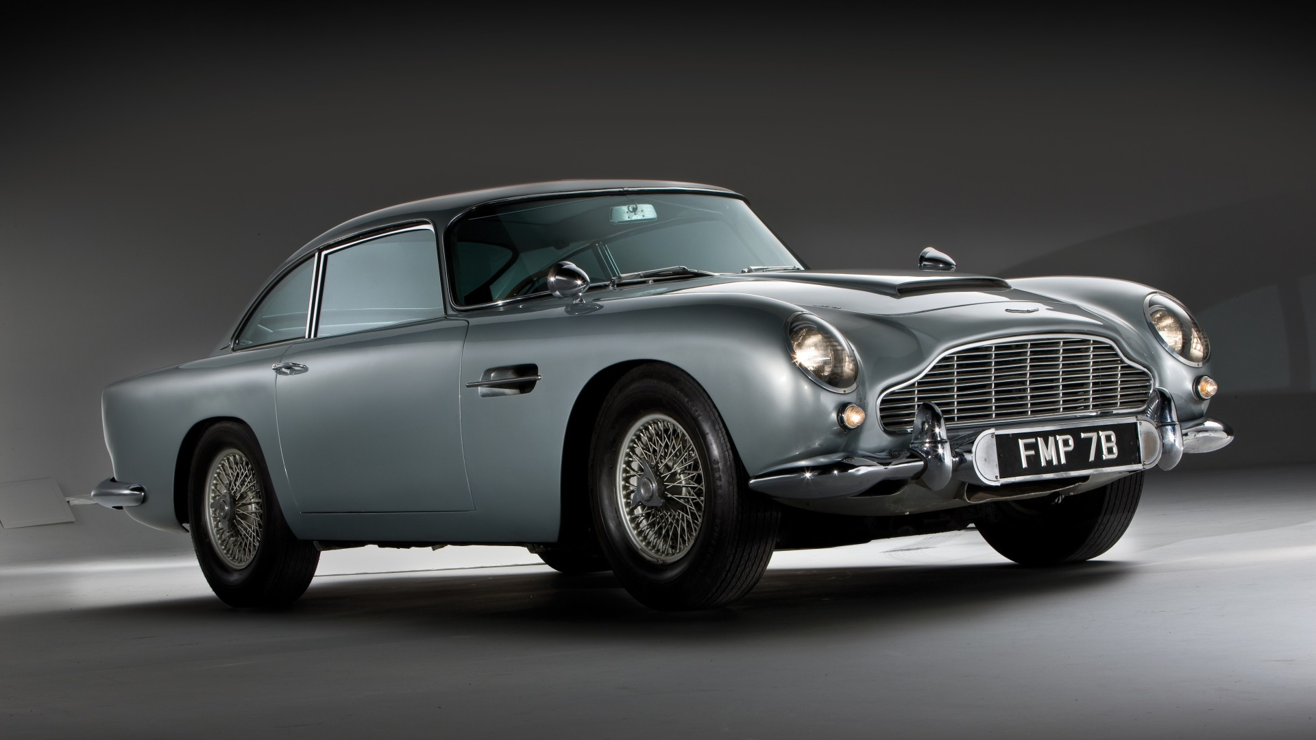 1920x1080 Preview wallpaper aston martin, db5, 1964, side view