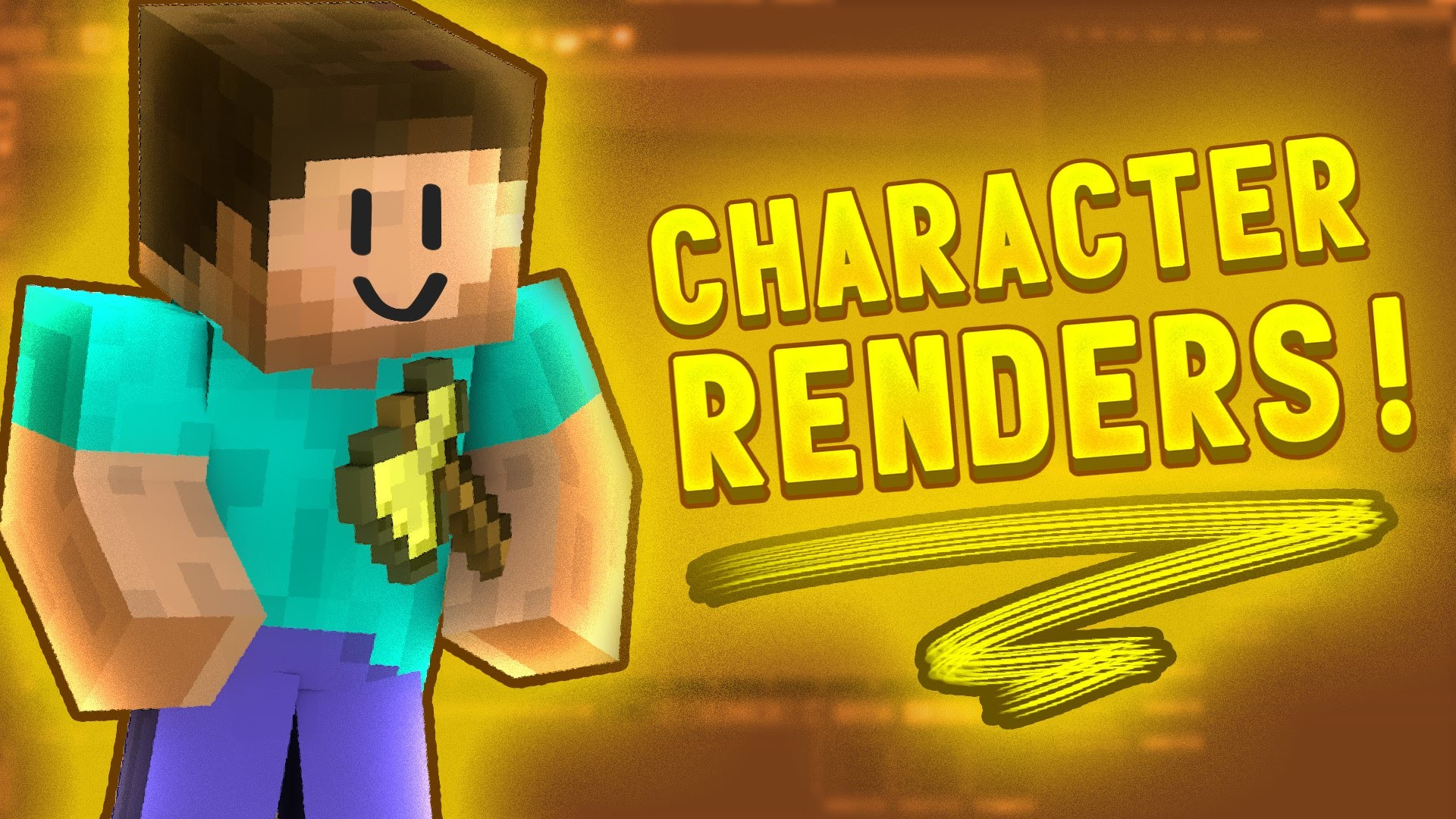 1920x1080 [TUTORIAL] How to Make Minecraft Character Renders - Cinema 4D -  Thumbnails, Banners, Wallpapers - YouTube