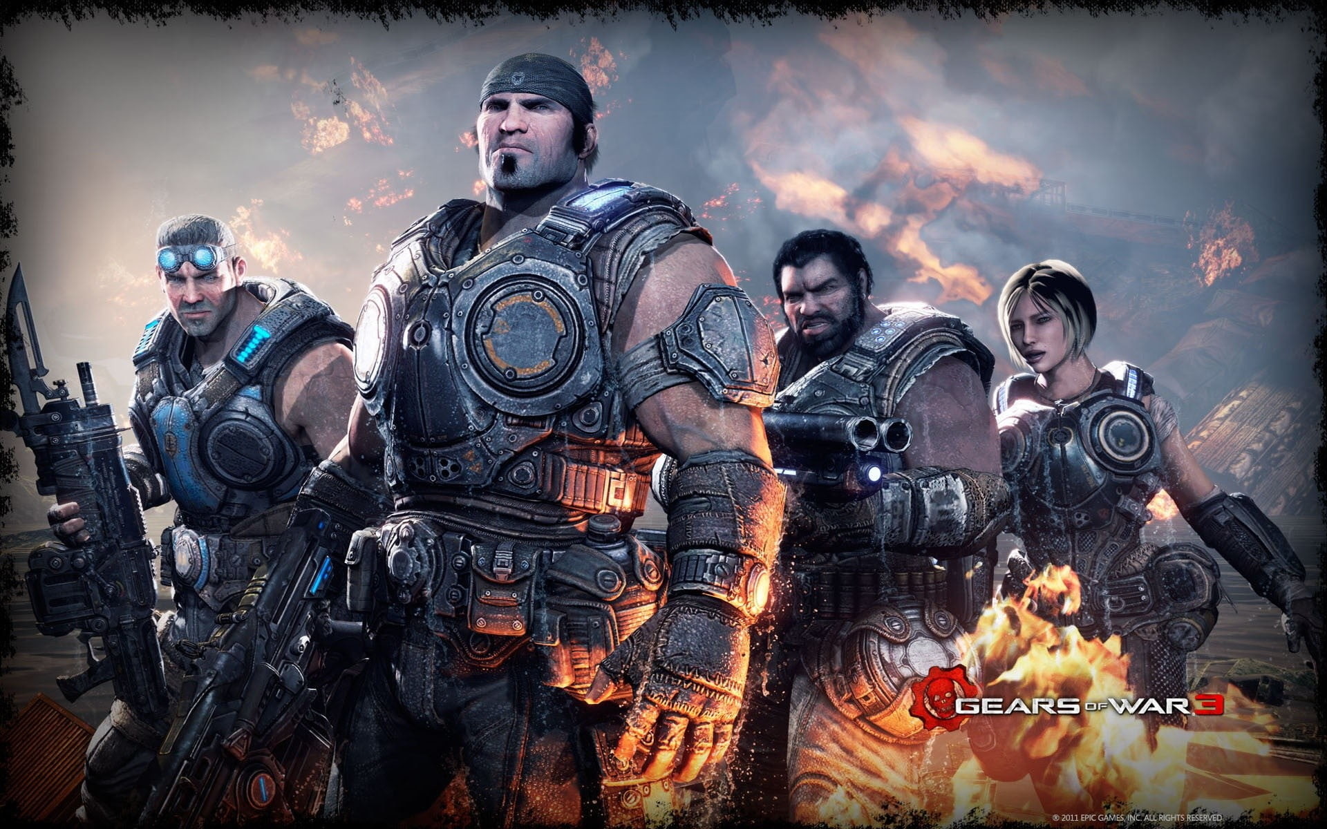 1920x1200 Gears of War 3 HD Wallpaper 16 - 1920 X 1200