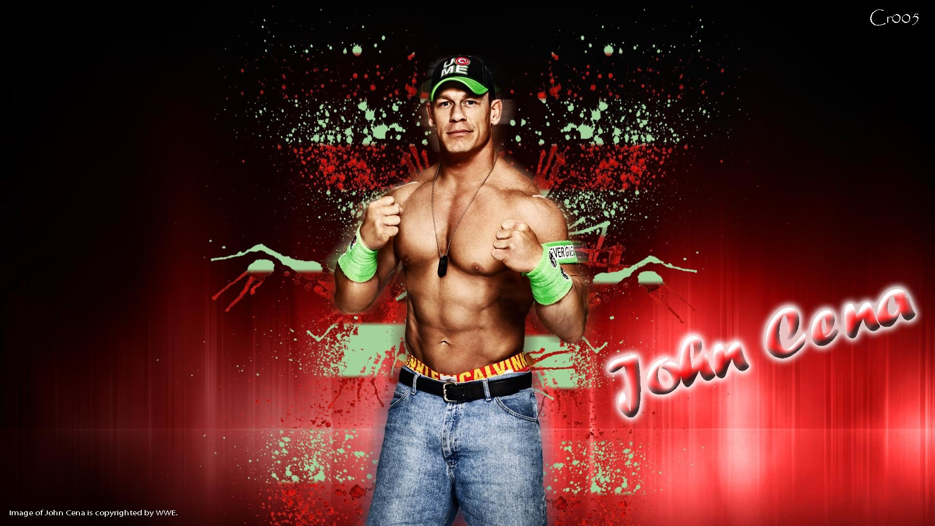 1920x1080 John Cena Full HD Wallpaper