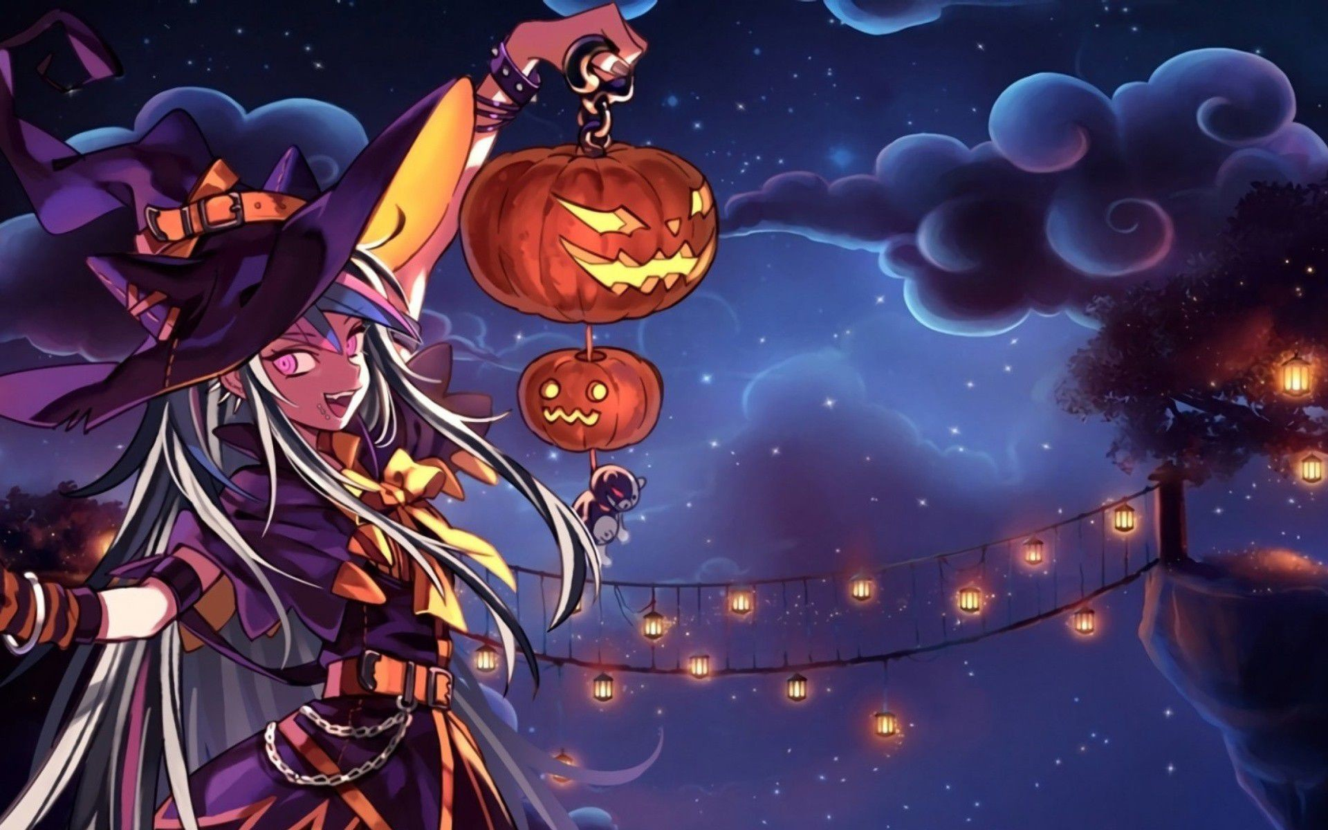 Fondos De Pc Anime: Anime Halloween Wallpaper (54+ Images