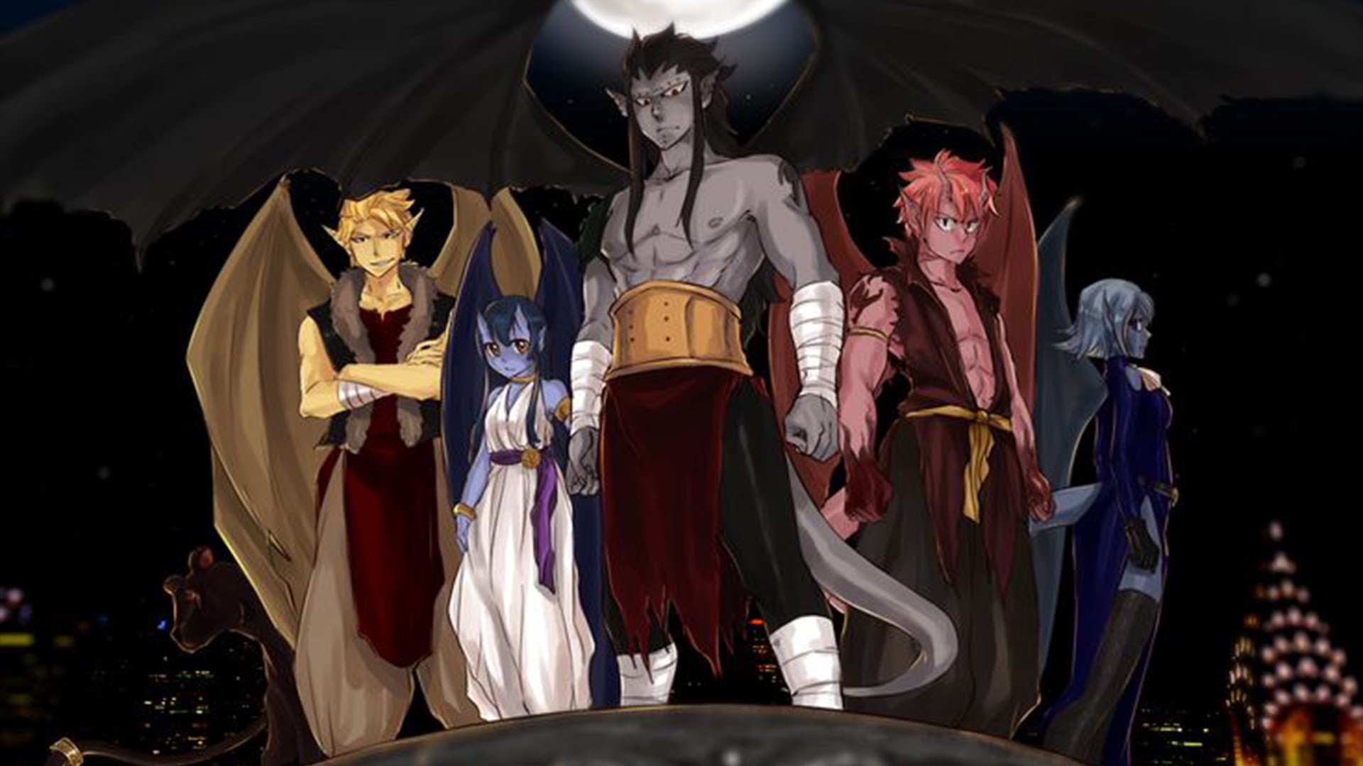 1920x1080 Fairy Tail 7 Dragon Slayer Wallpapers Images