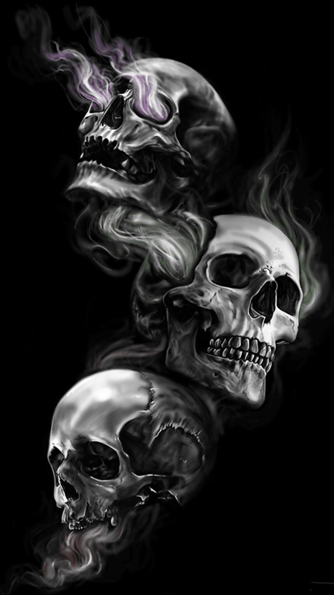 Badass wallpapers of skulls 61 images - Skeleton wallpaper ...