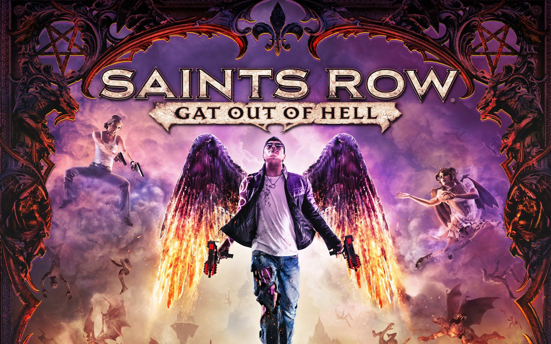 1920x1200 Video Game - Saints Row: Gat Out Of Hell Wallpaper