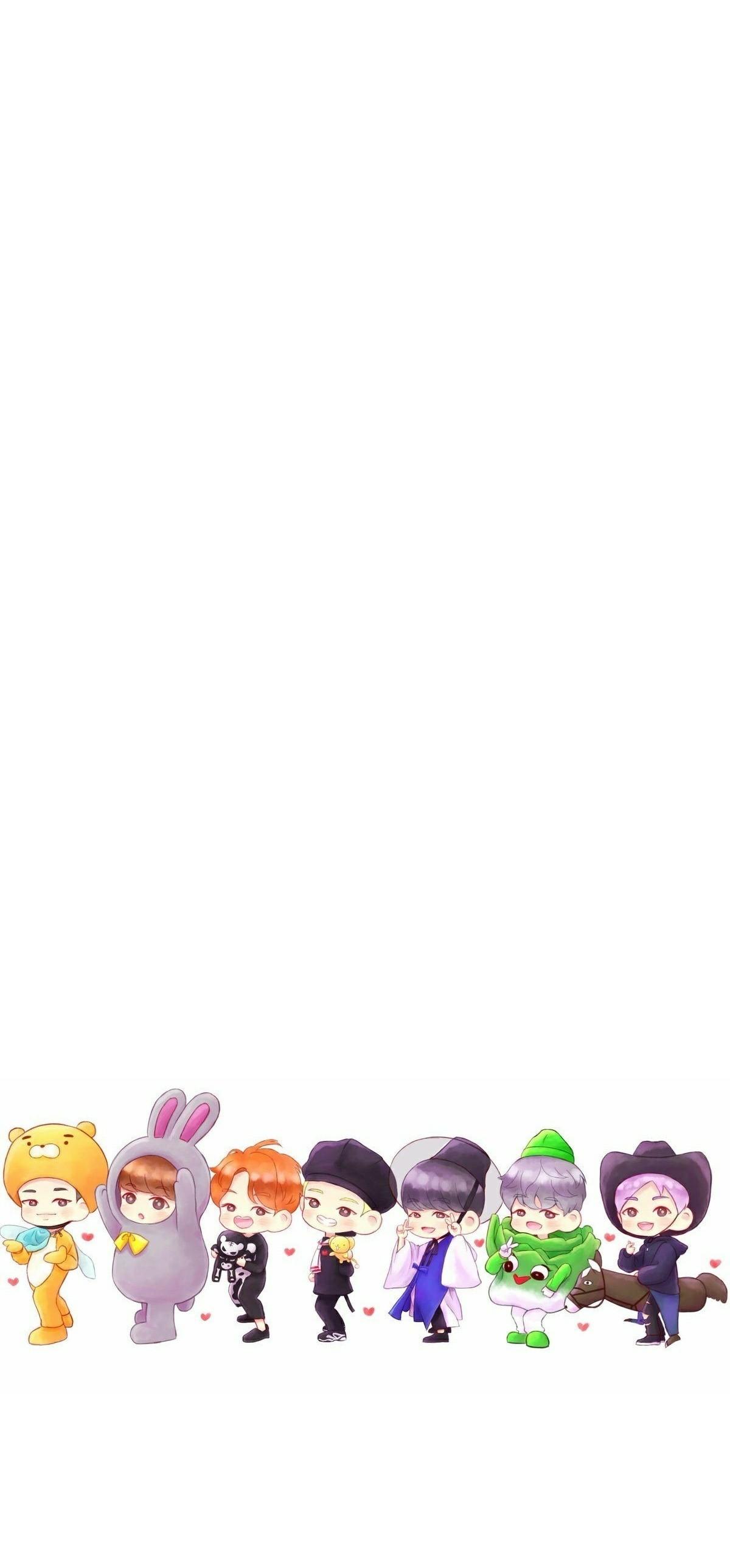 Free wallpaper bts anime wallpaper hd - Chibi background ...