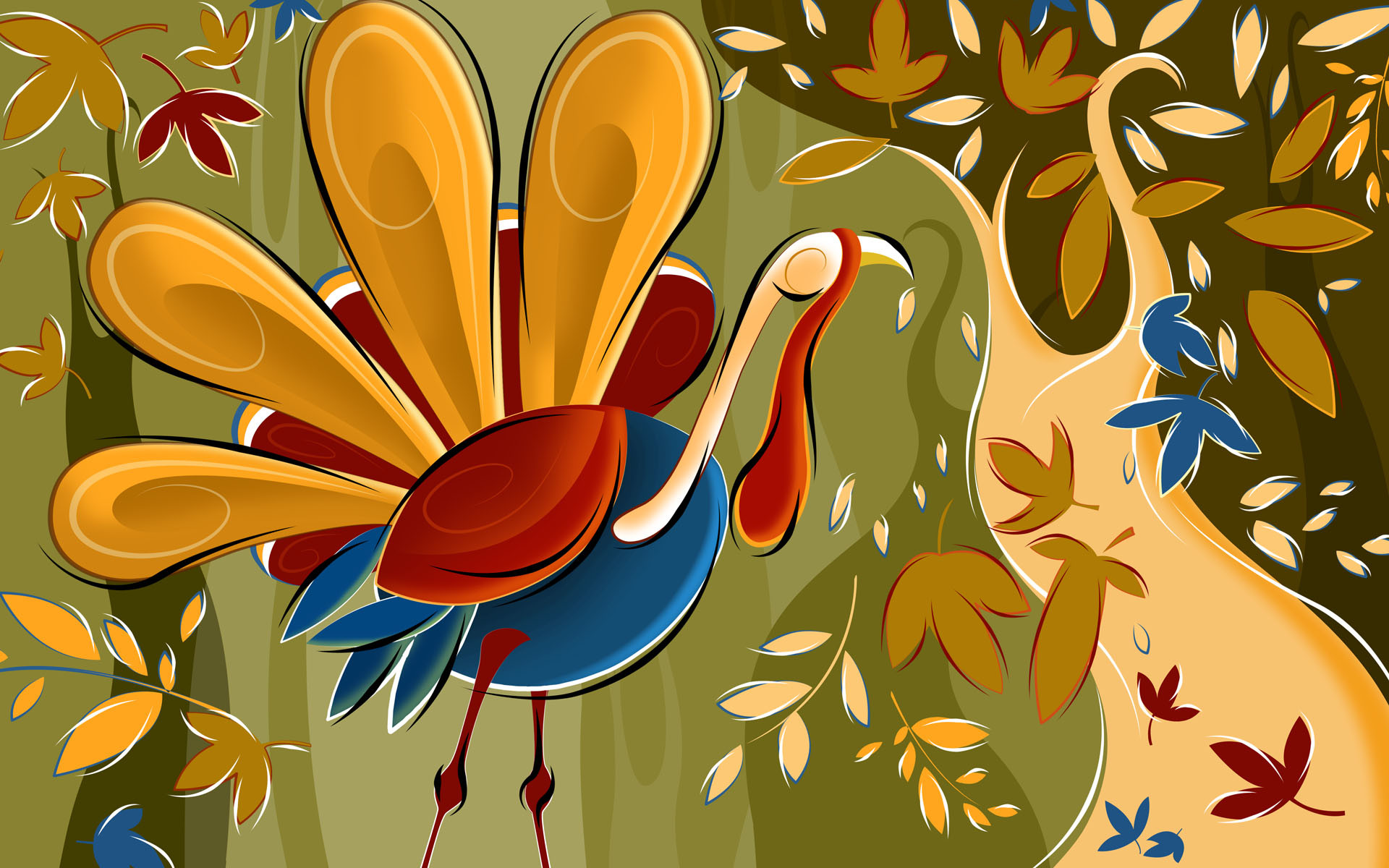 1920x1200 Thanksgiving Cartoon Wallpaper  Thanksgiving Cartoon .