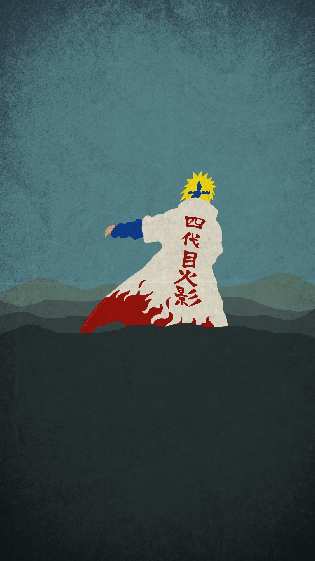 1080x1920 Naruto Minimalist Mobile Wallpaper