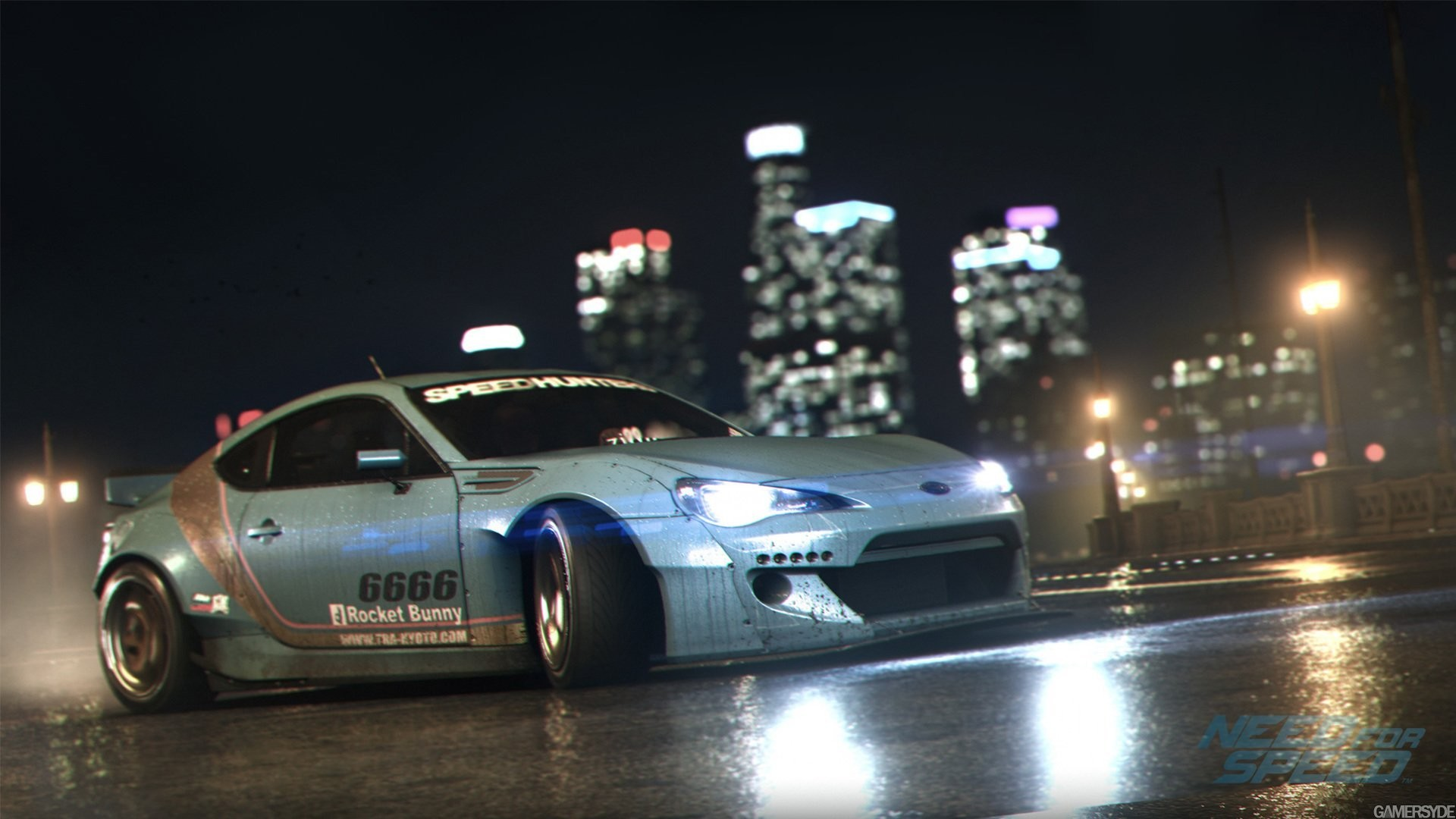 1920x1080 subaru brz rocket bunny need for speed 2015 nigth race game