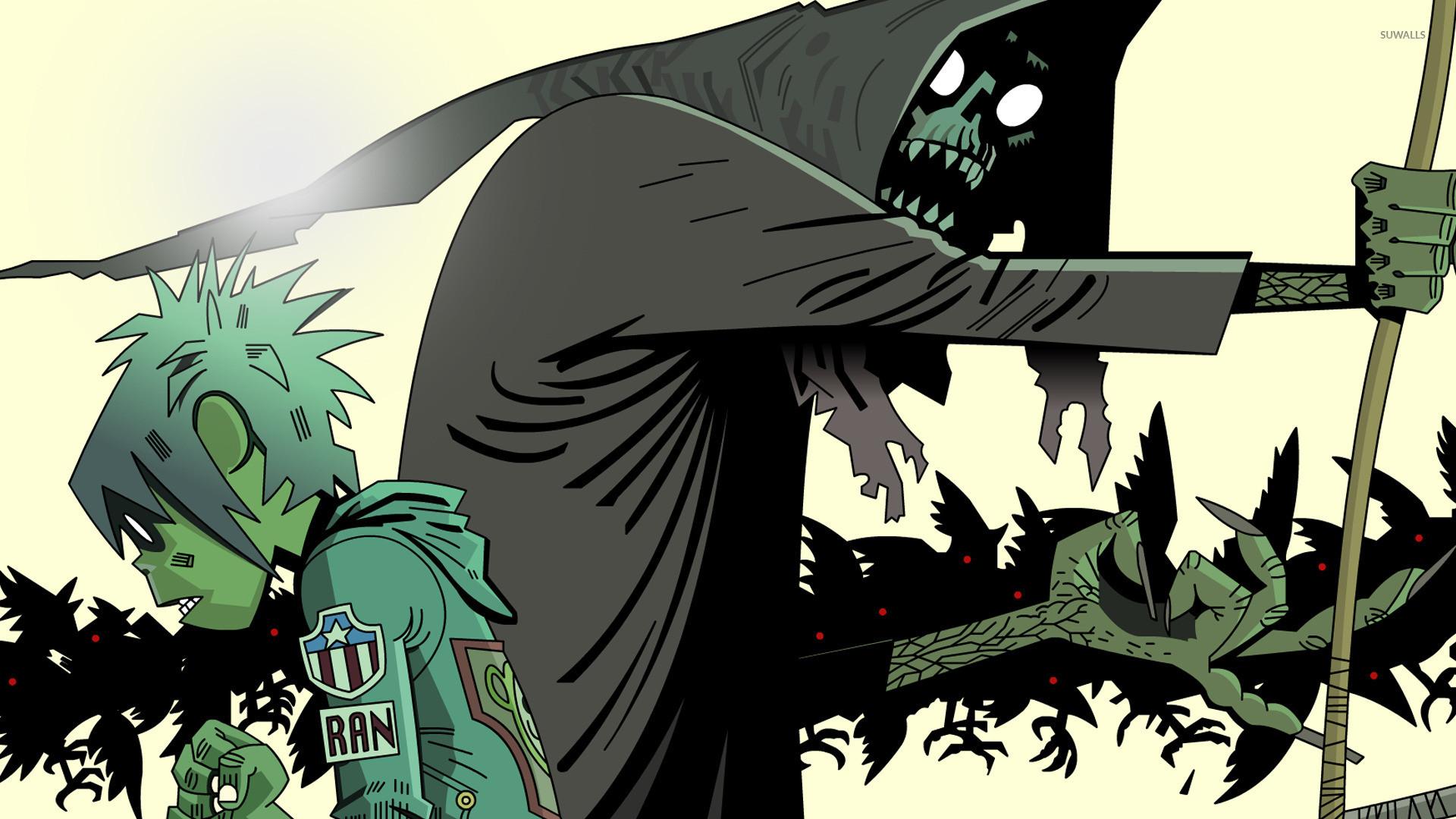 Gorillaz Demon Days Wallpapers