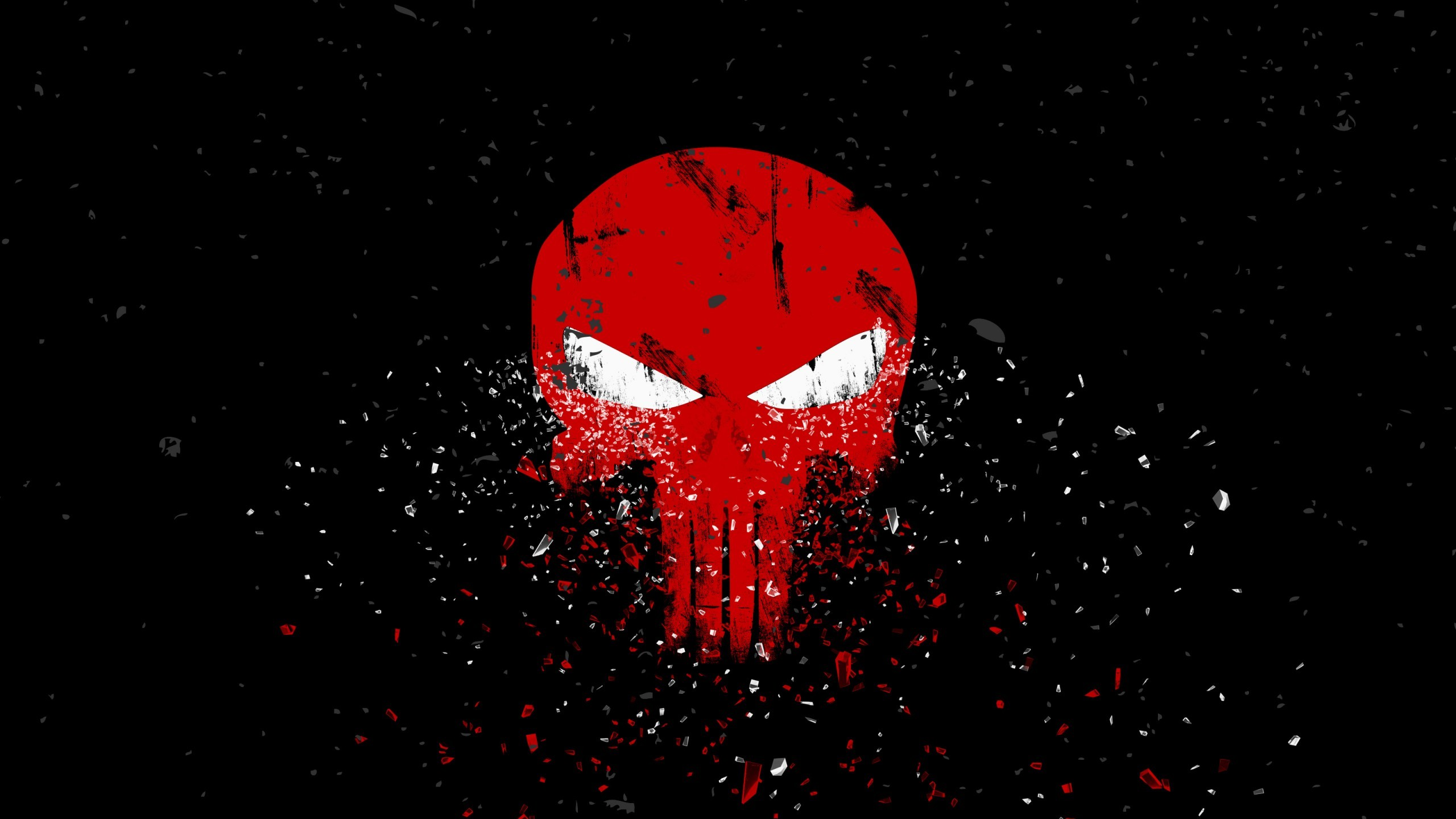 2560x1440 Creative Graphics / Punisher Wallpaper