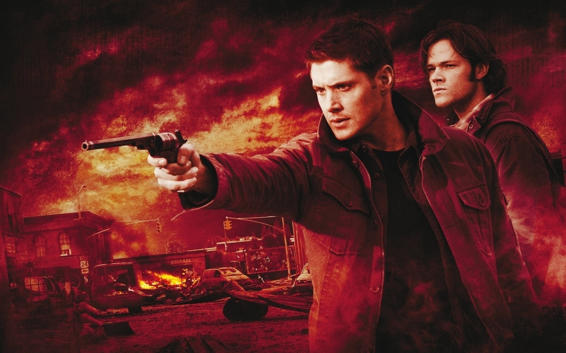 Supernatural season 5 wallpaper 68 images 1920x1200 hd wallpaper background id264700 voltagebd Image collections
