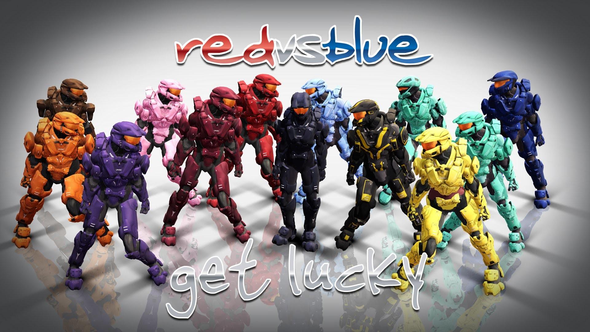 Red vs Blue wallpaper ·① Download free stunning