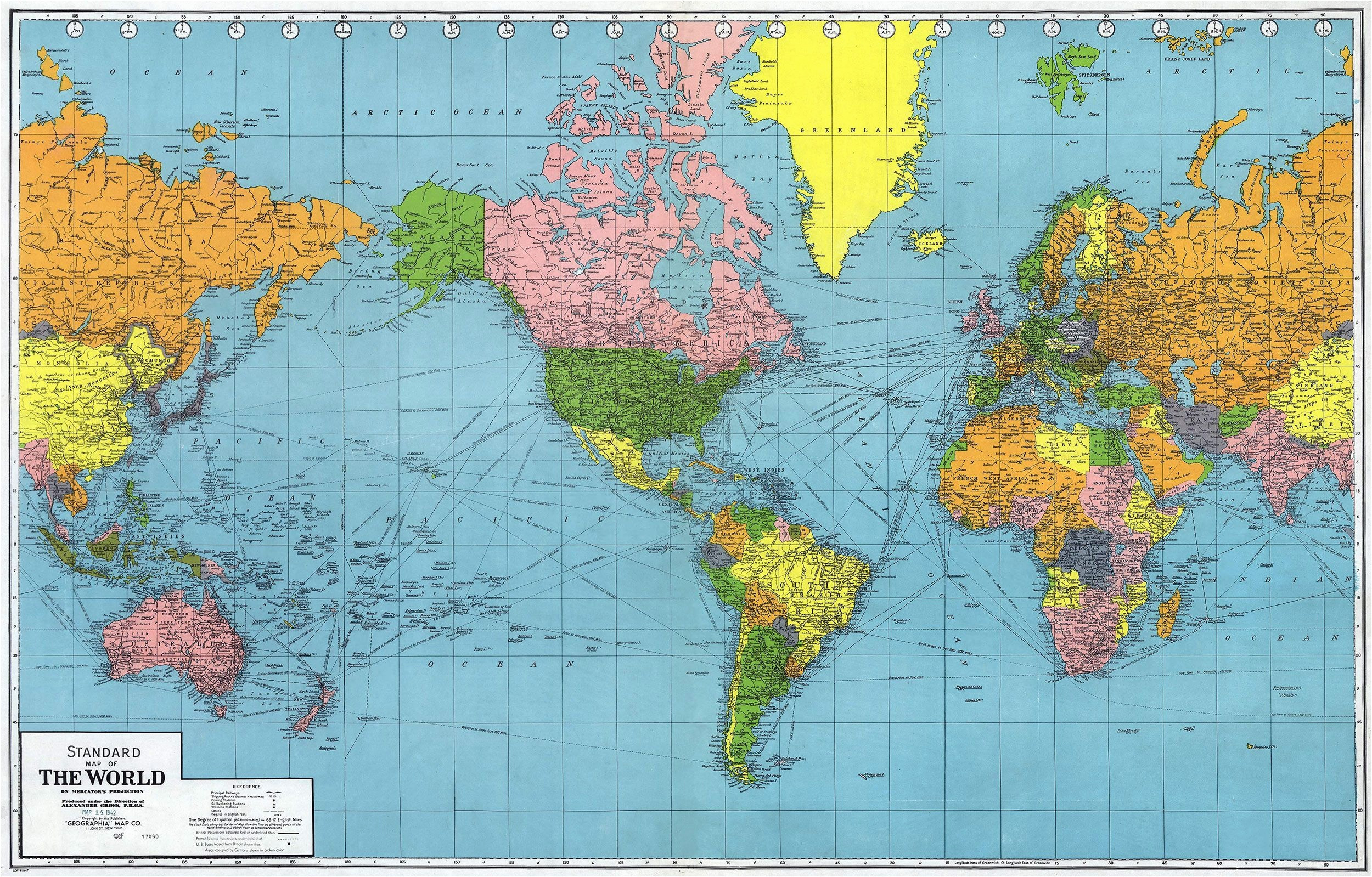 World Map Time Zones Wallpaper (52+ images)