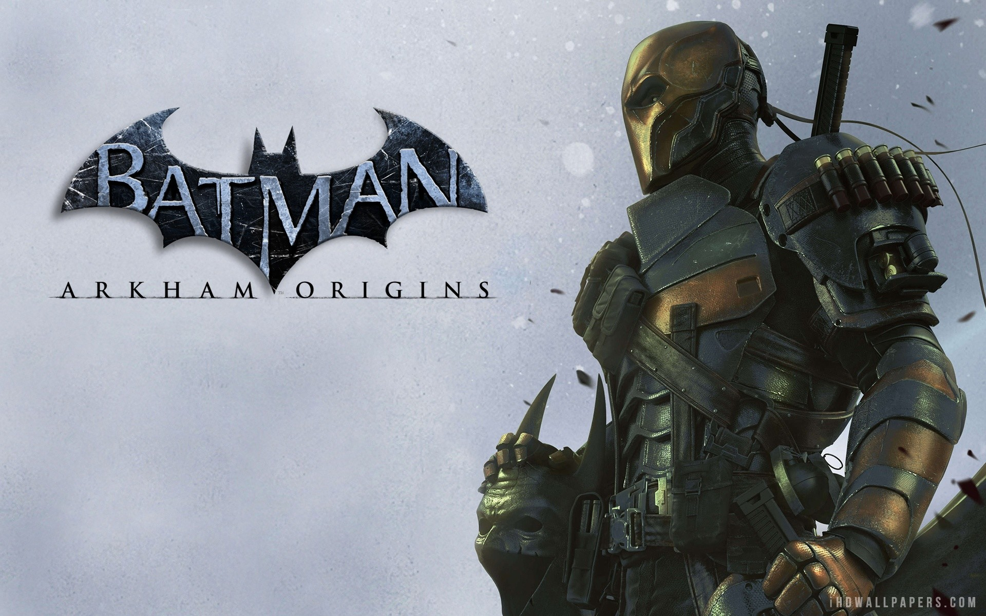 Arkham Origins Deathstroke Wallpaper 80 Images