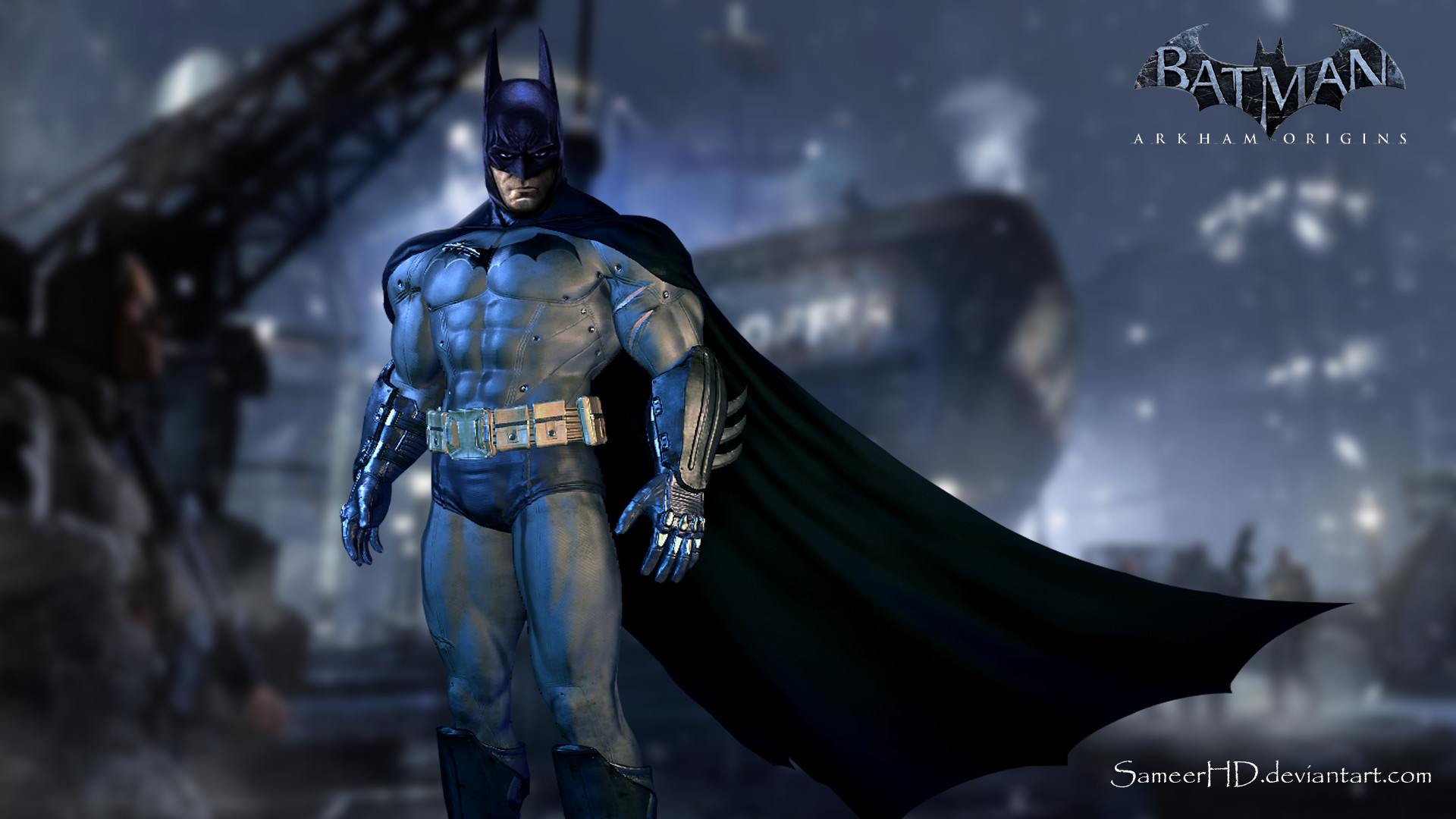 1920x1080 Batman Arkham Origins Wallpaper by SameerHD Batman Arkham Origins Wallpaper  by SameerHD