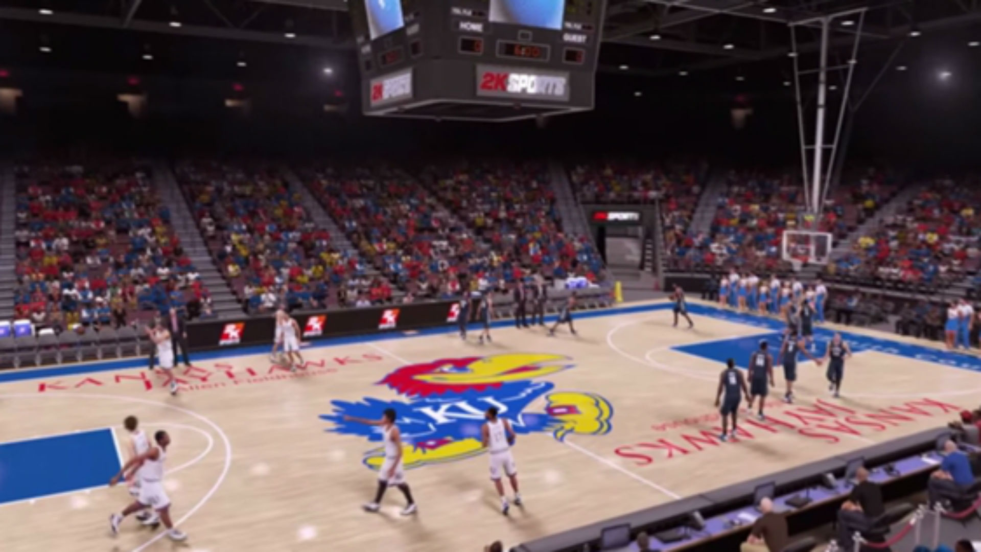 1920x1080 Kansas Jayhawks make an appearance in NBA 2K16 trailer | Other Sports |  Sporting News