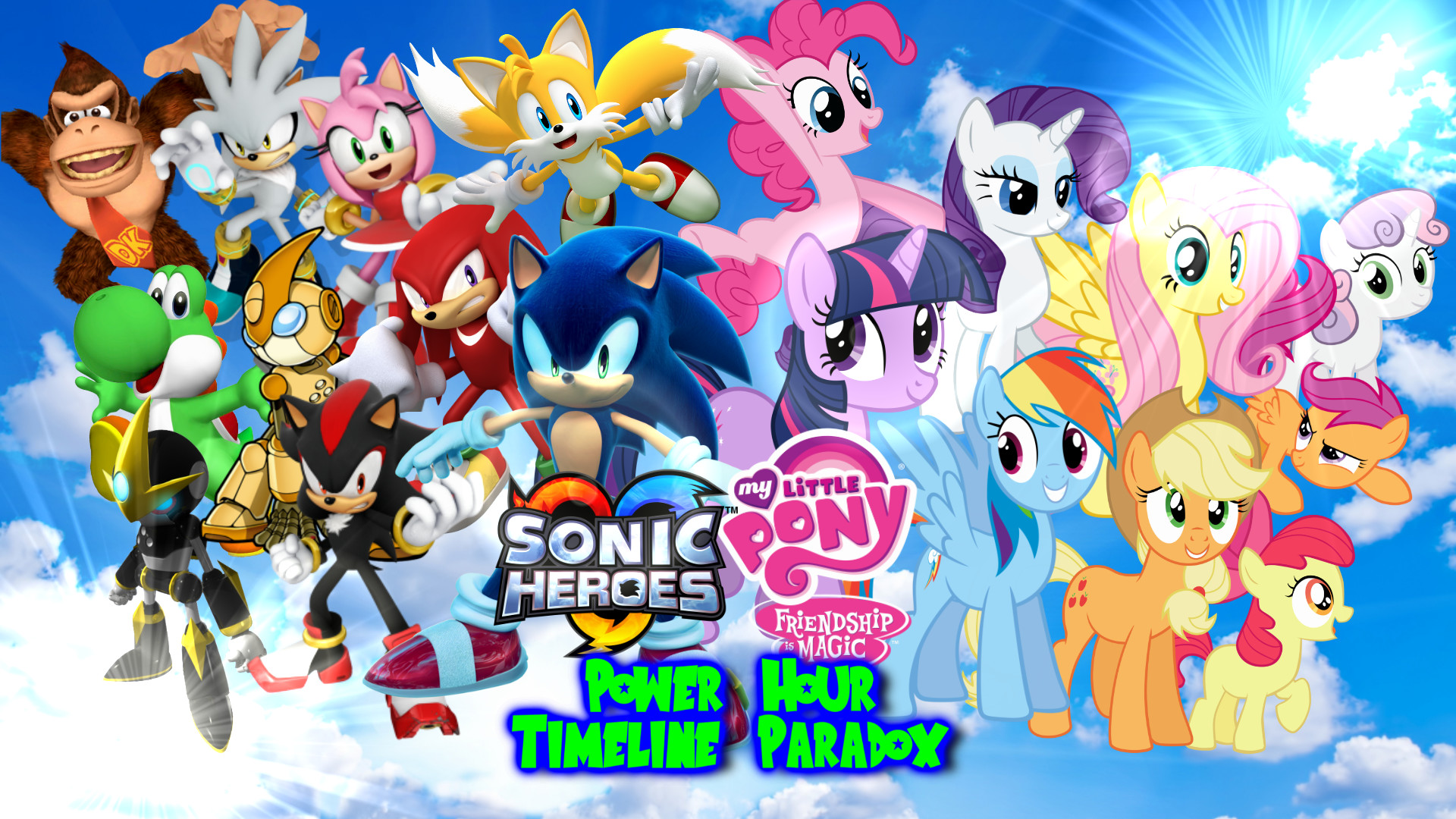 1920x1080 Sonic and My Little Pony Wallpapers 2016 to 2017 by .