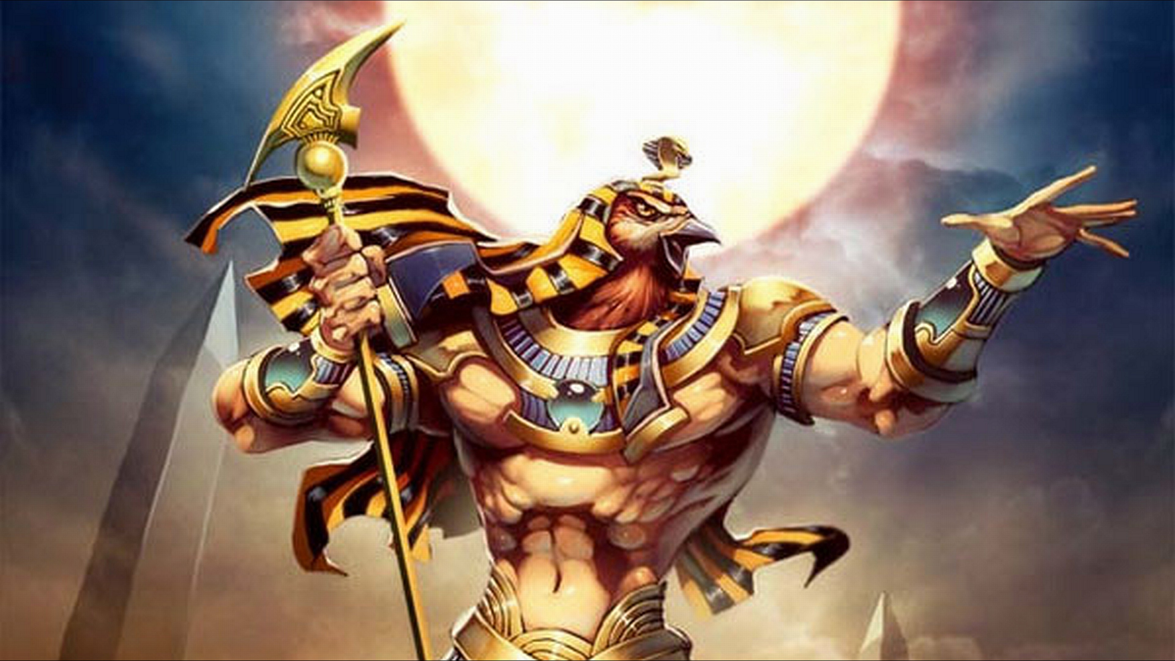 Egyptian Gods Wallpaper Backgrounds (66+ images)