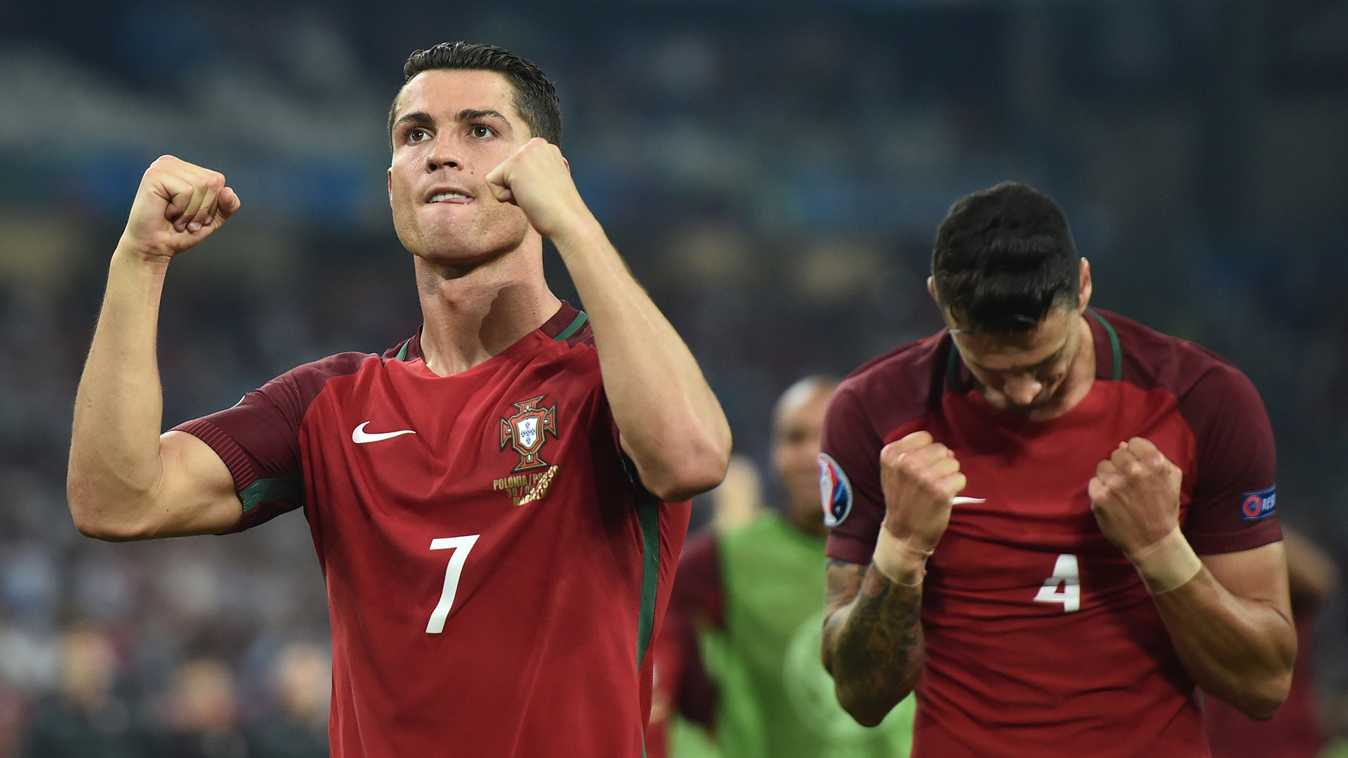 1920x1080 In stark contrast, Messi's arch-rival at Real Madrid, Cristiano Ronaldo,  experienced spot kick euphoria on Thursday as he converted Portugal's first  effort ...