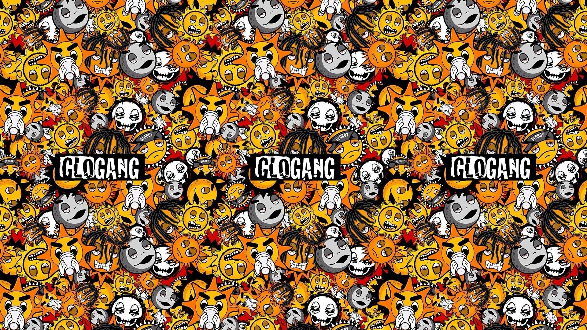 1920x1080 Glo Gang Wallpaper Related Keywords & Suggestions - Glo Gang Wallpaper
