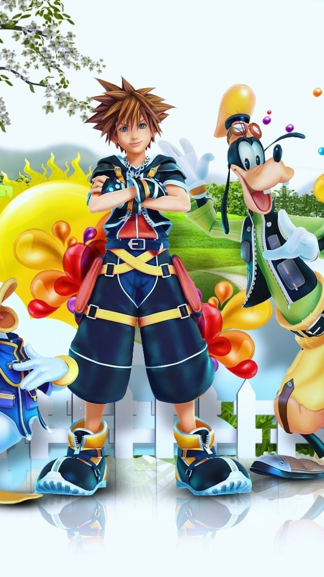 1080x1920 Kingdom Hearts IPhone Wallpaper For 6 Plus