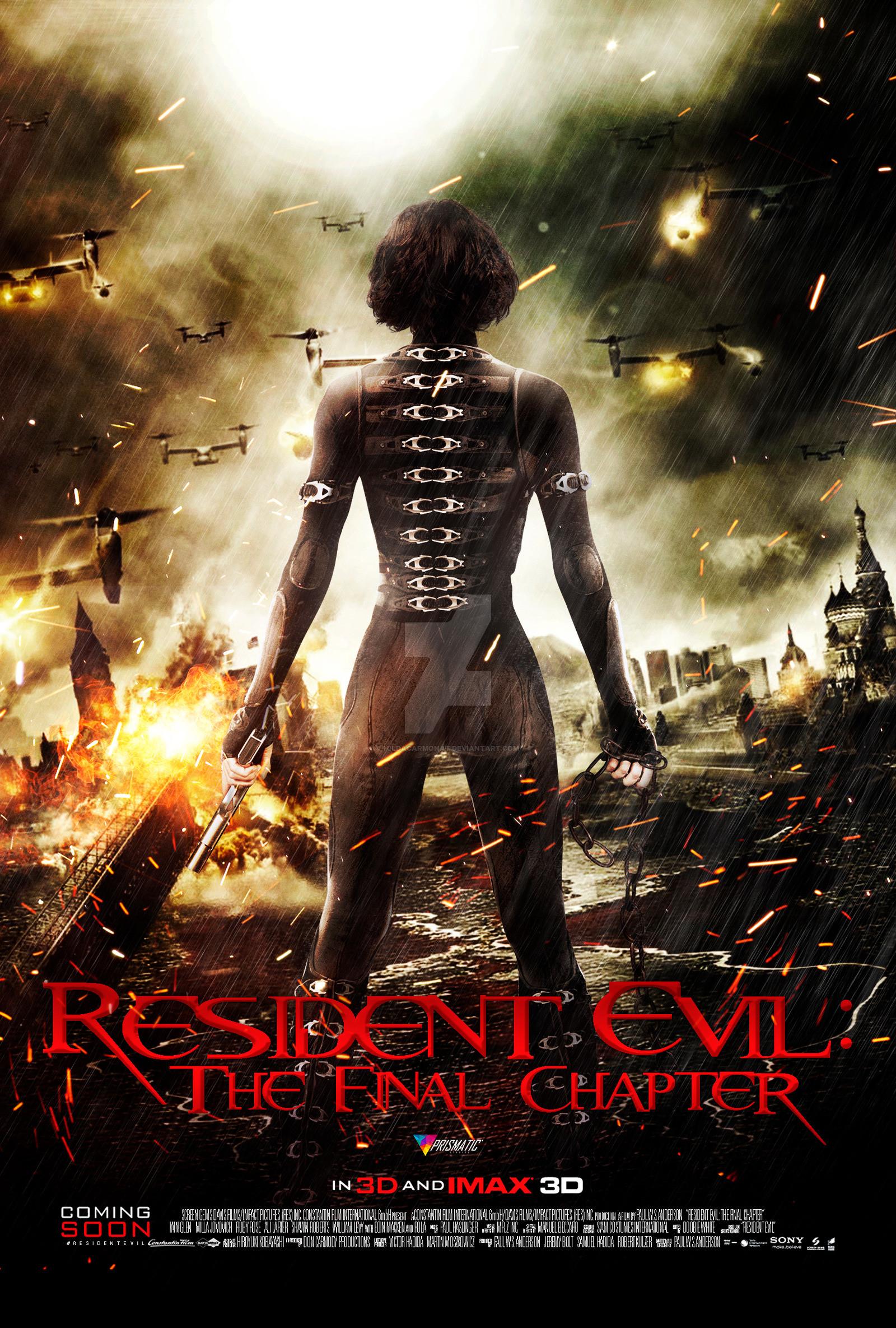 Resident evil 4 movie wallpaper 63 images - Resident evil the final chapter wallpaper ...