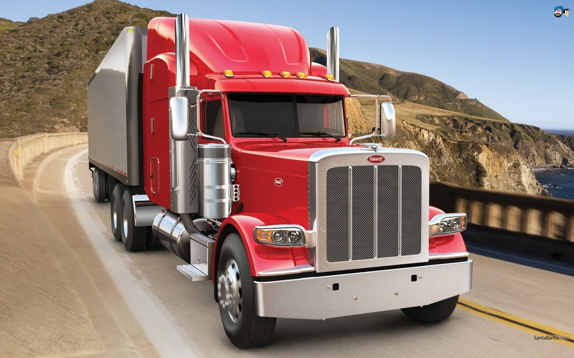 1920x1200 PETERBILT semi tractor transport truck wallpaper |  | 776481 |  WallpaperUP