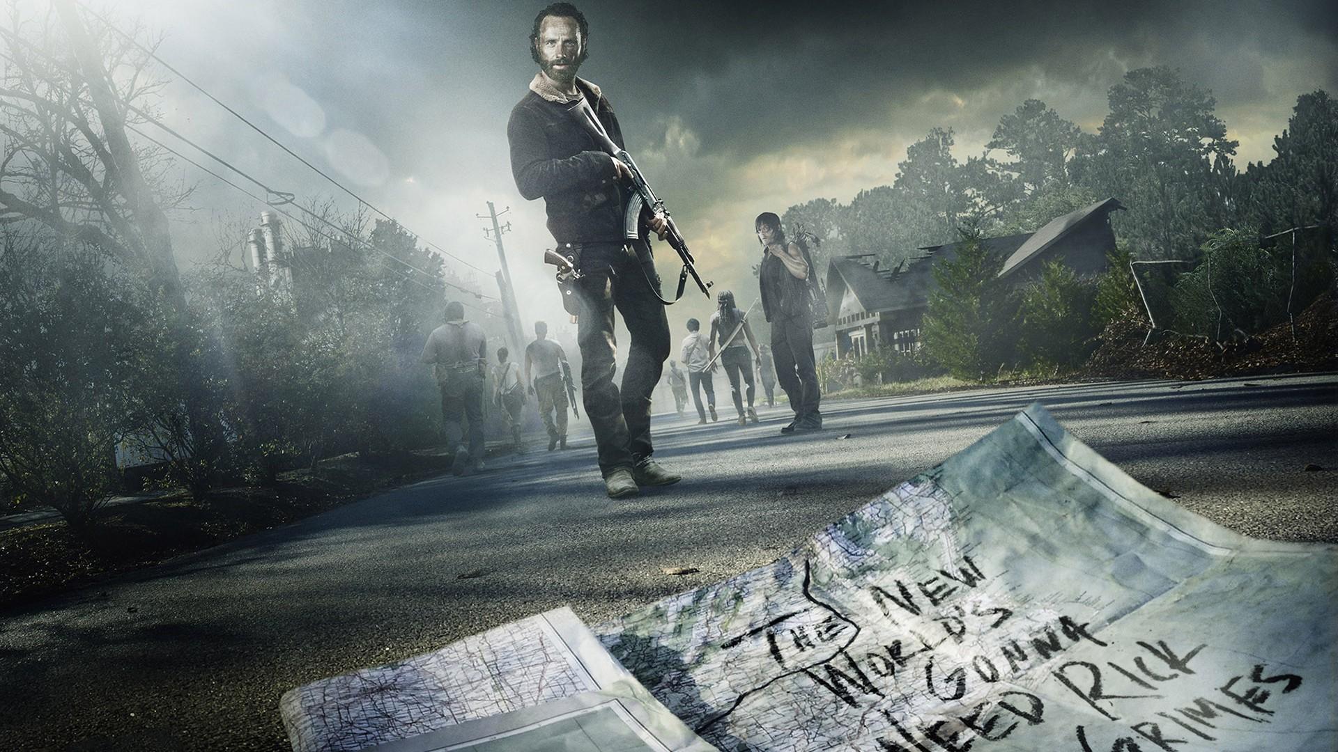 1920x1080 The Walking Dead Season 5 HD Wallpaper Stylish