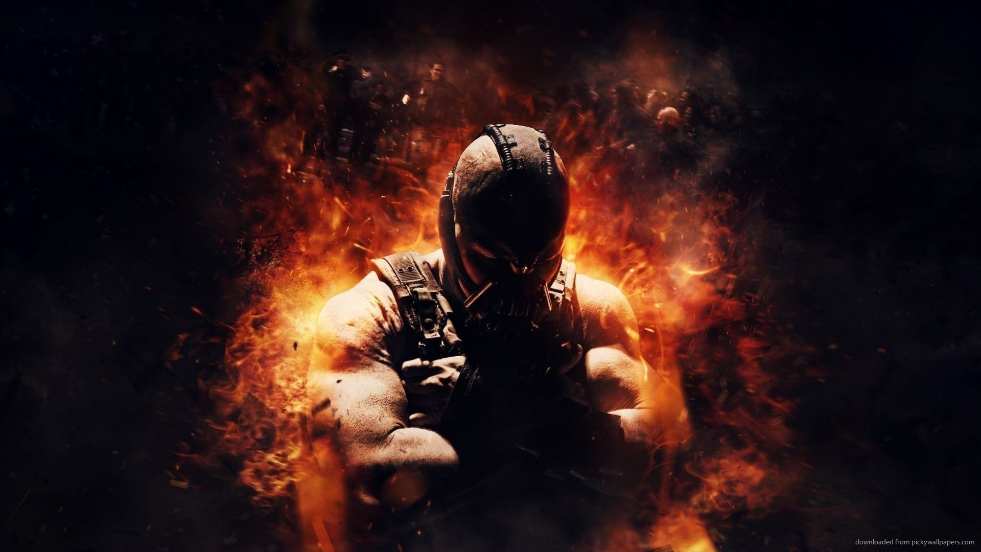 1920x1080 Bane On Fire for