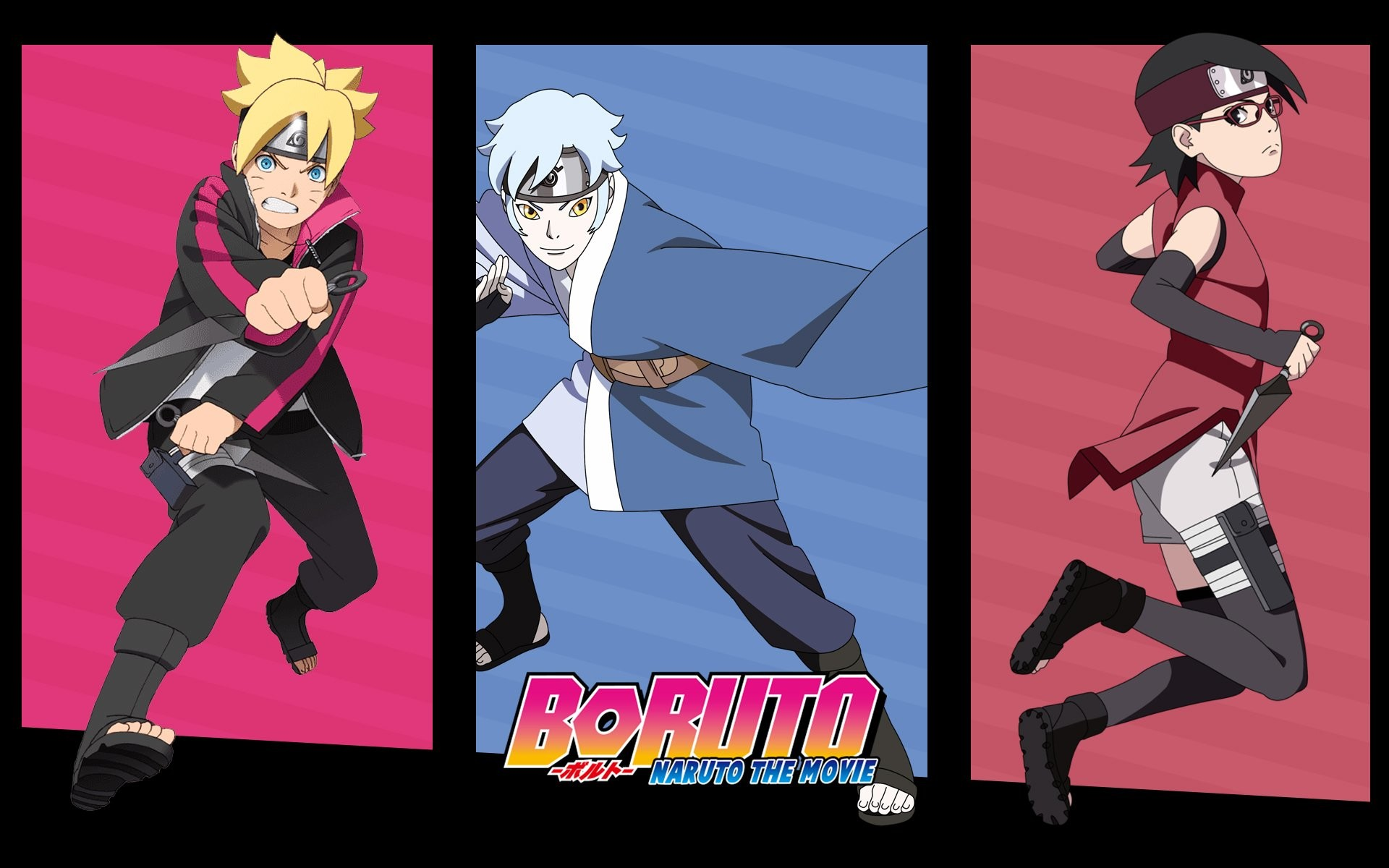 1920x1200 Anime - Boruto: Naruto the Movie Sarada Uchiha Mitsuki (Naruto) Boruto  Uzumaki Wallpaper